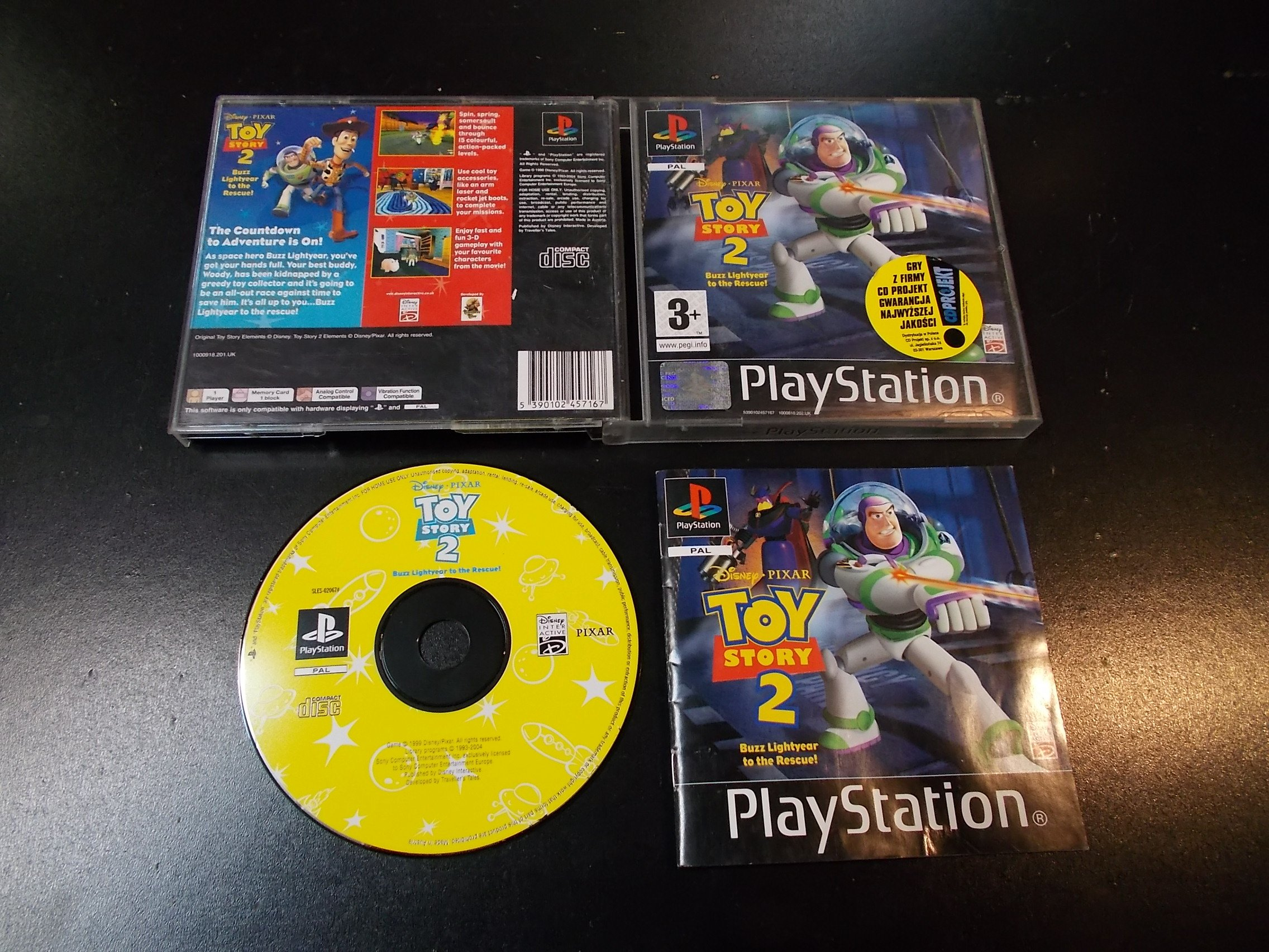 Disney Toy Story 2: Buzz Lightyear - GRA Psx Ps1 Sklep