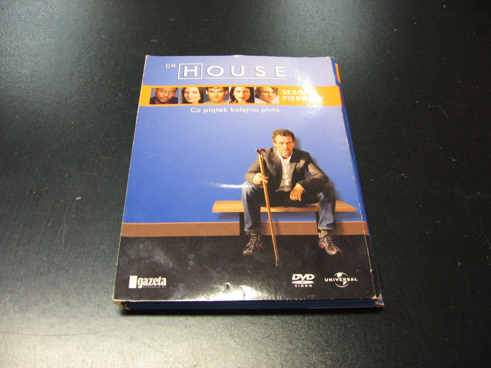 Doktor House Dr MD Sezon Pierwszy DVD 7 płyt - Sklep