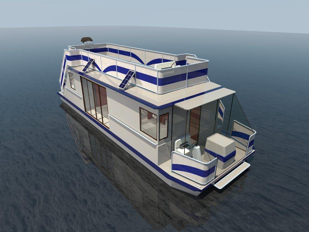 Dom na wodzie Aquaner  1200