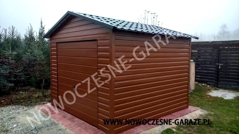 Domek ogrodowy ALTANA schowek Garaż blaszany