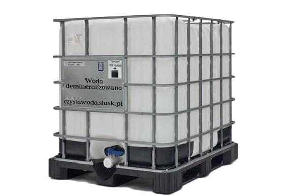 Dostarczamy wodę demineralizowaną do firm