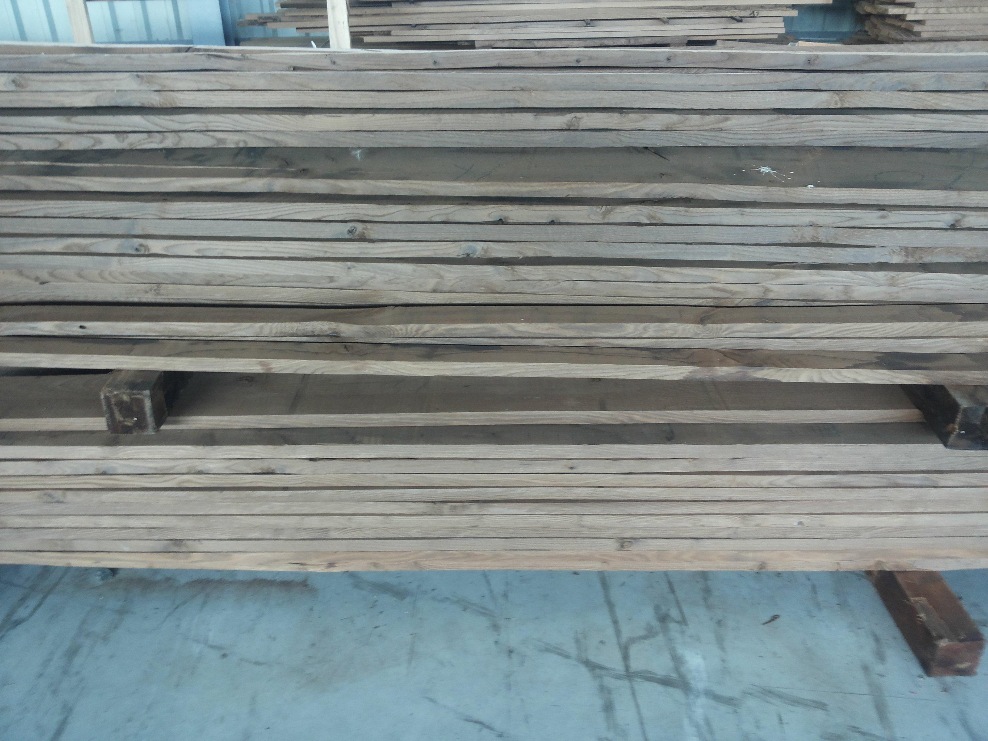 Drewno termowane - jesion.