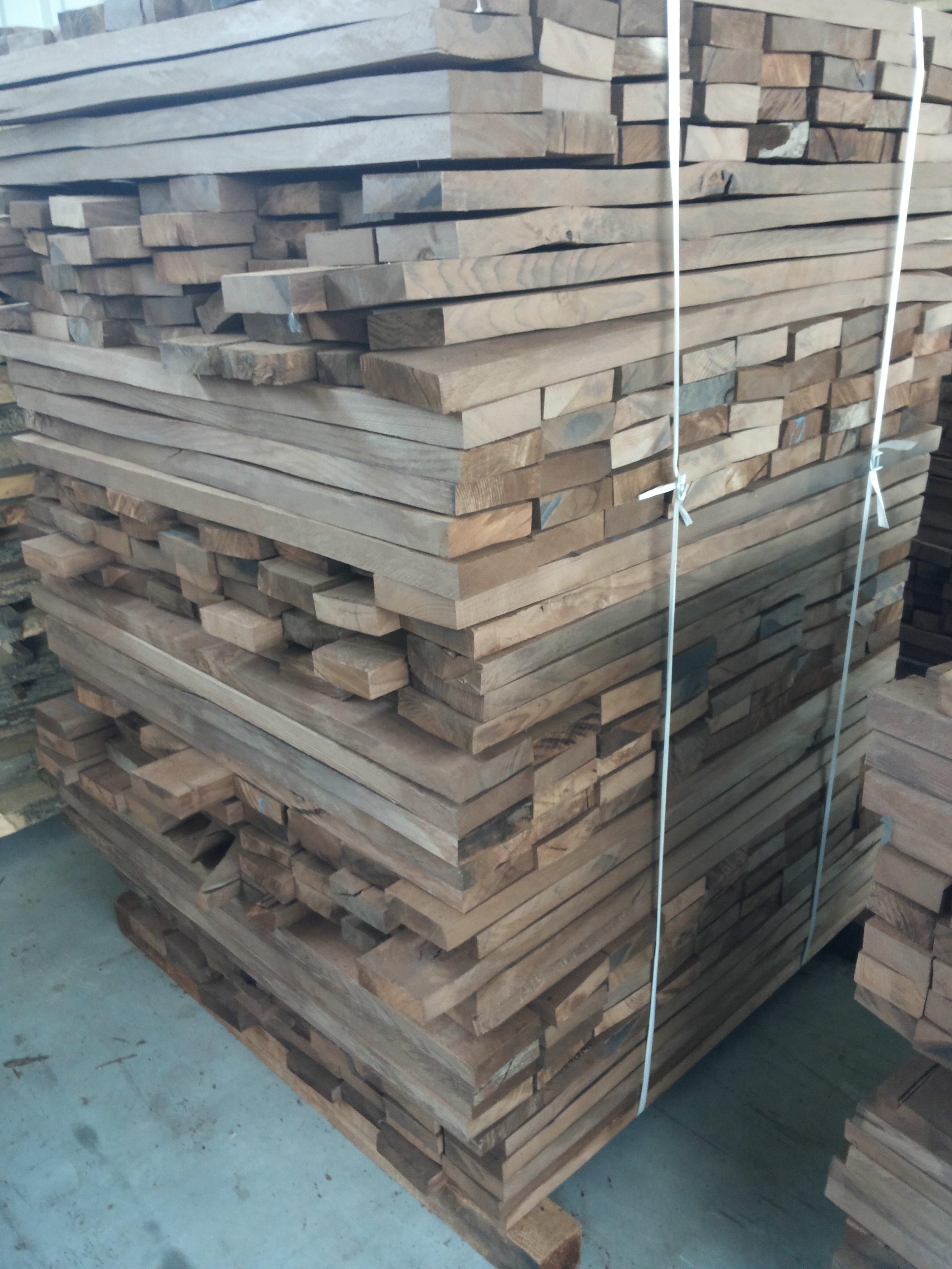 Drewno termowane - buk.