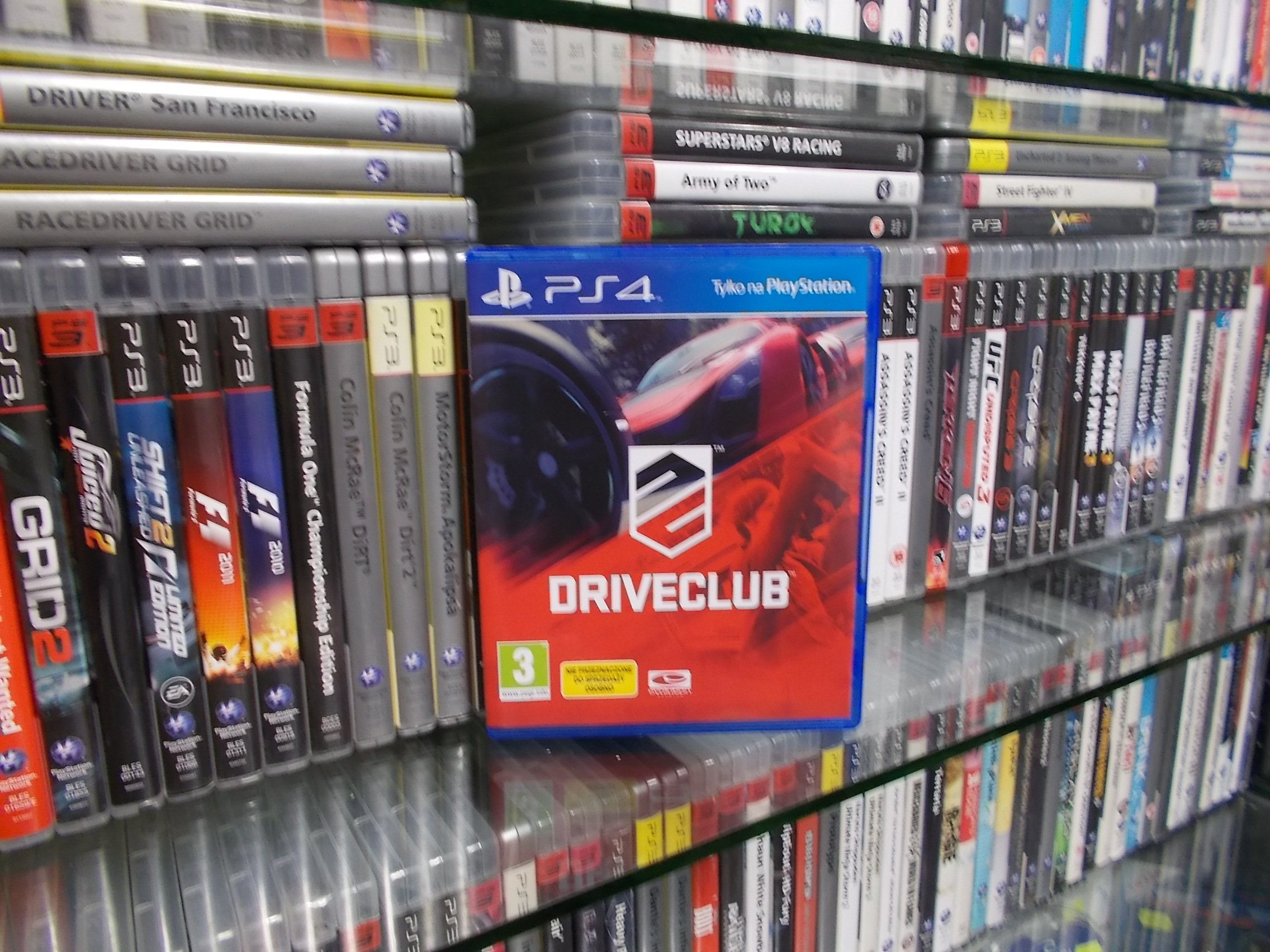 DriveClub - GRA PS4 Sklep