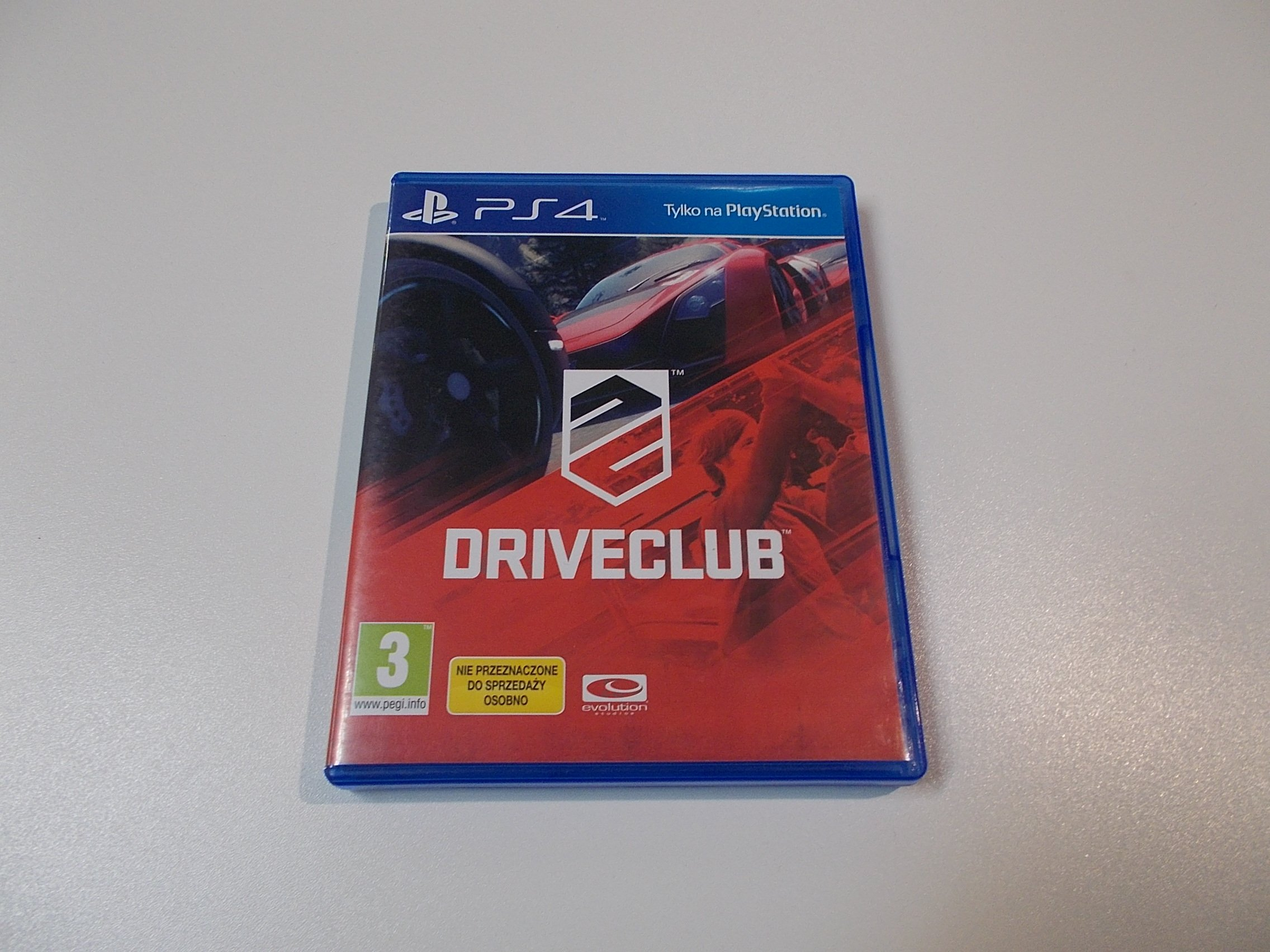 Driveclub - GRA Ps4 - Sklep