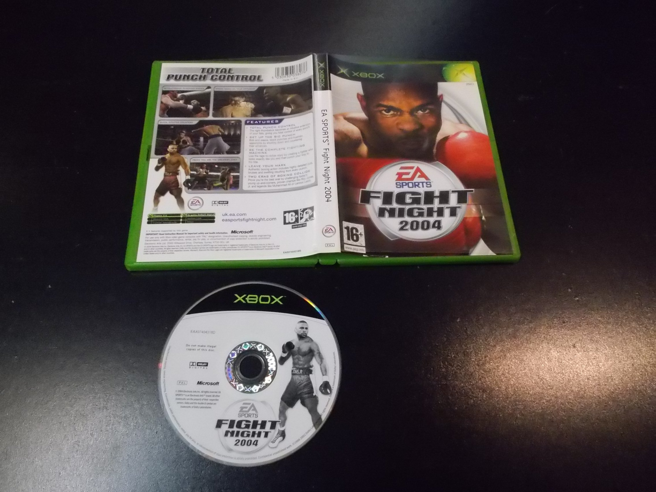 EA Sports Fight Night 2004 - GRA Xbox Classic