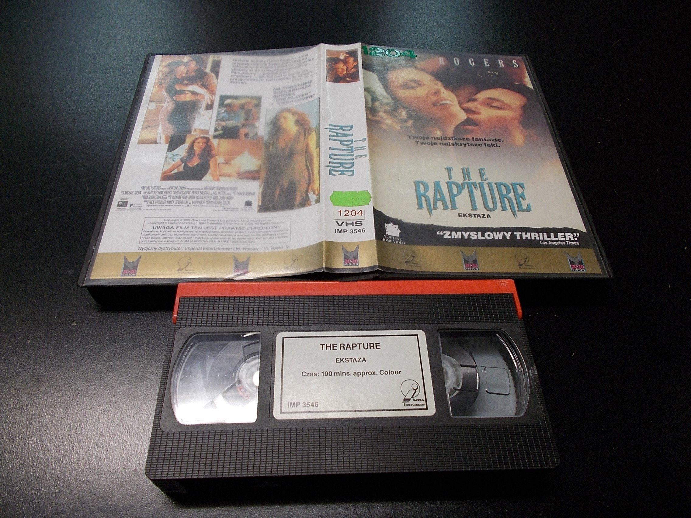 EKSTAZA -  kaseta VHS - 1197 Opole - AlleOpole.pl