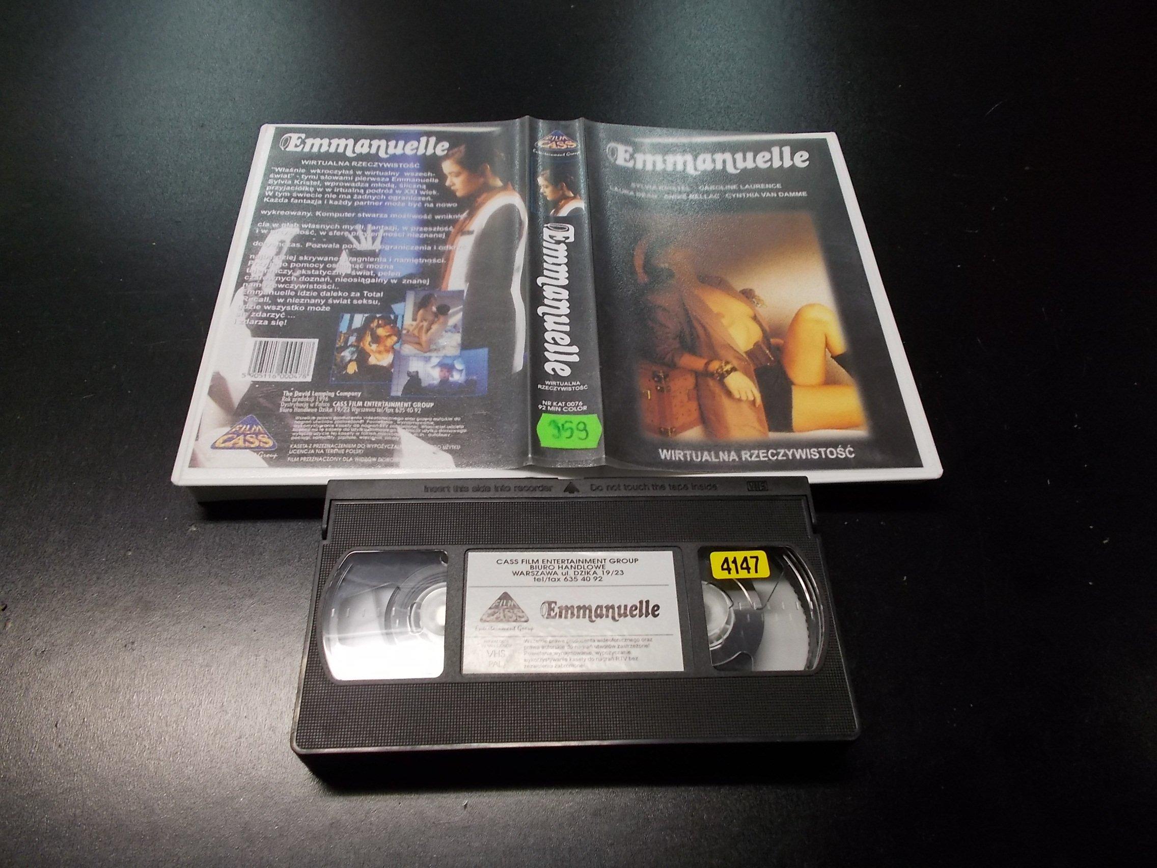 EMMANUELLE -  kaseta VHS - 1207 Opole - AlleOpole.pl