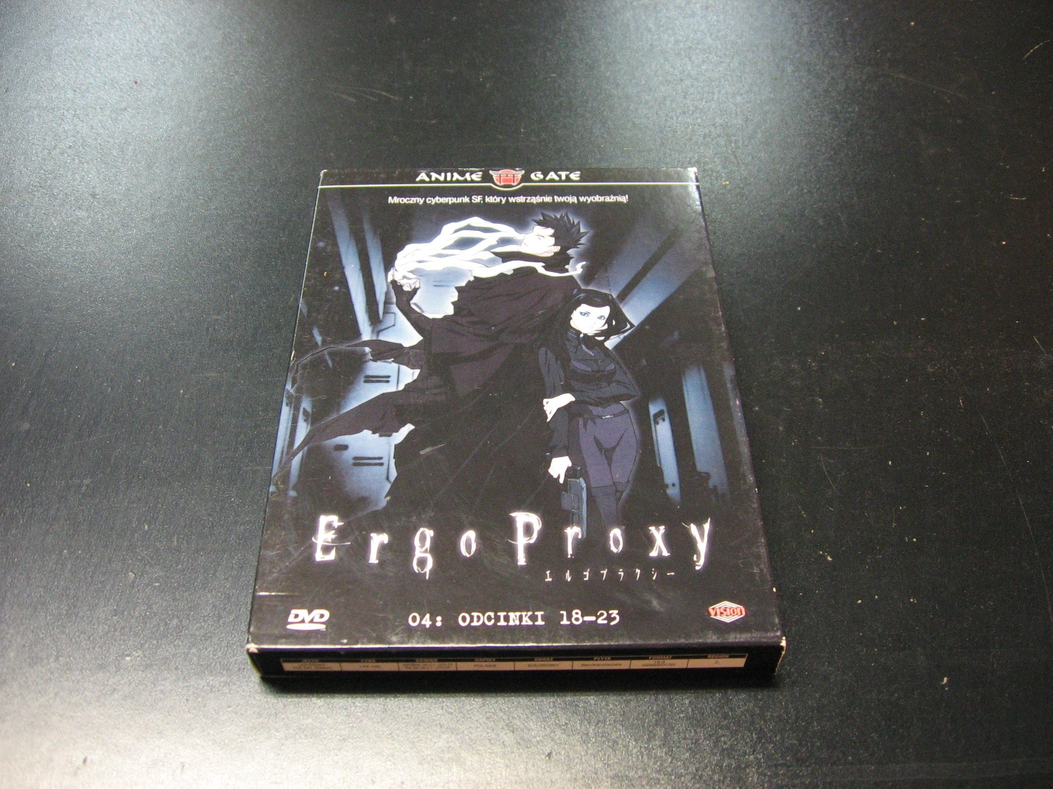 ERGO PROXY odcinki 18-23 polski LEKTOR DVD Sklep Opole