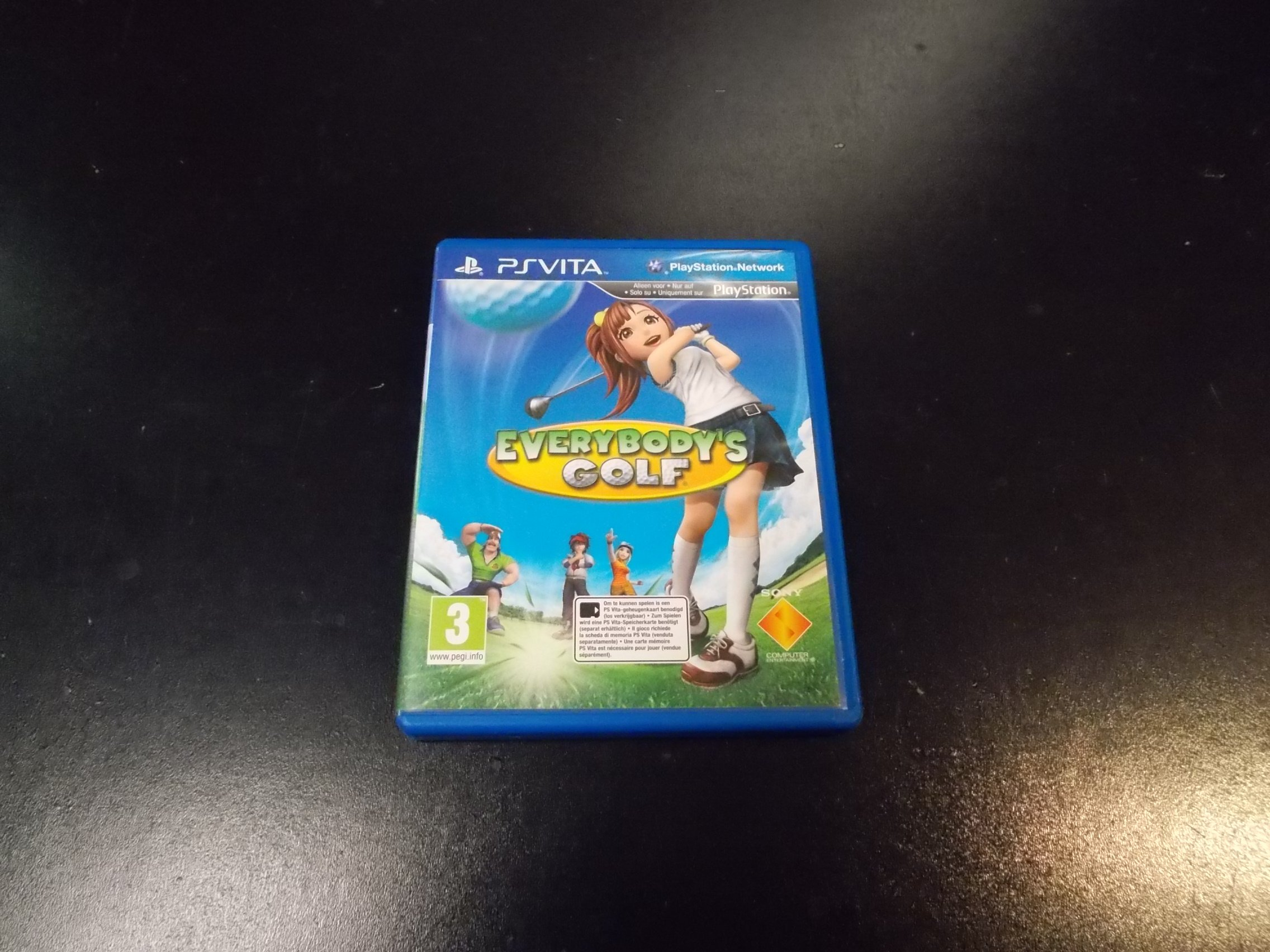 Everybody`s Golf - GRA Ps Vita Sklep