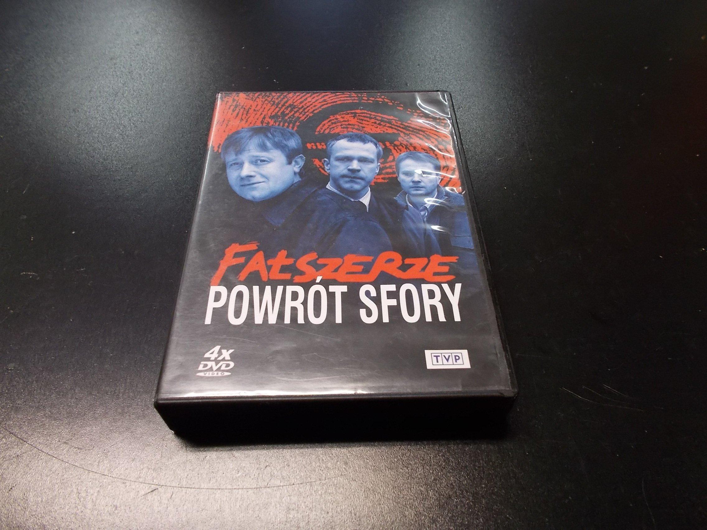 FALSZERZE - POWROT SFORY (4 DVD) - DVD - Sklep