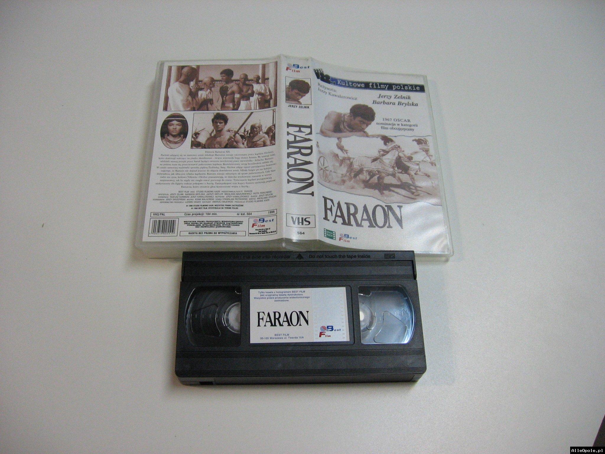 FARAON - VHS Kaseta Video - Opole 1800