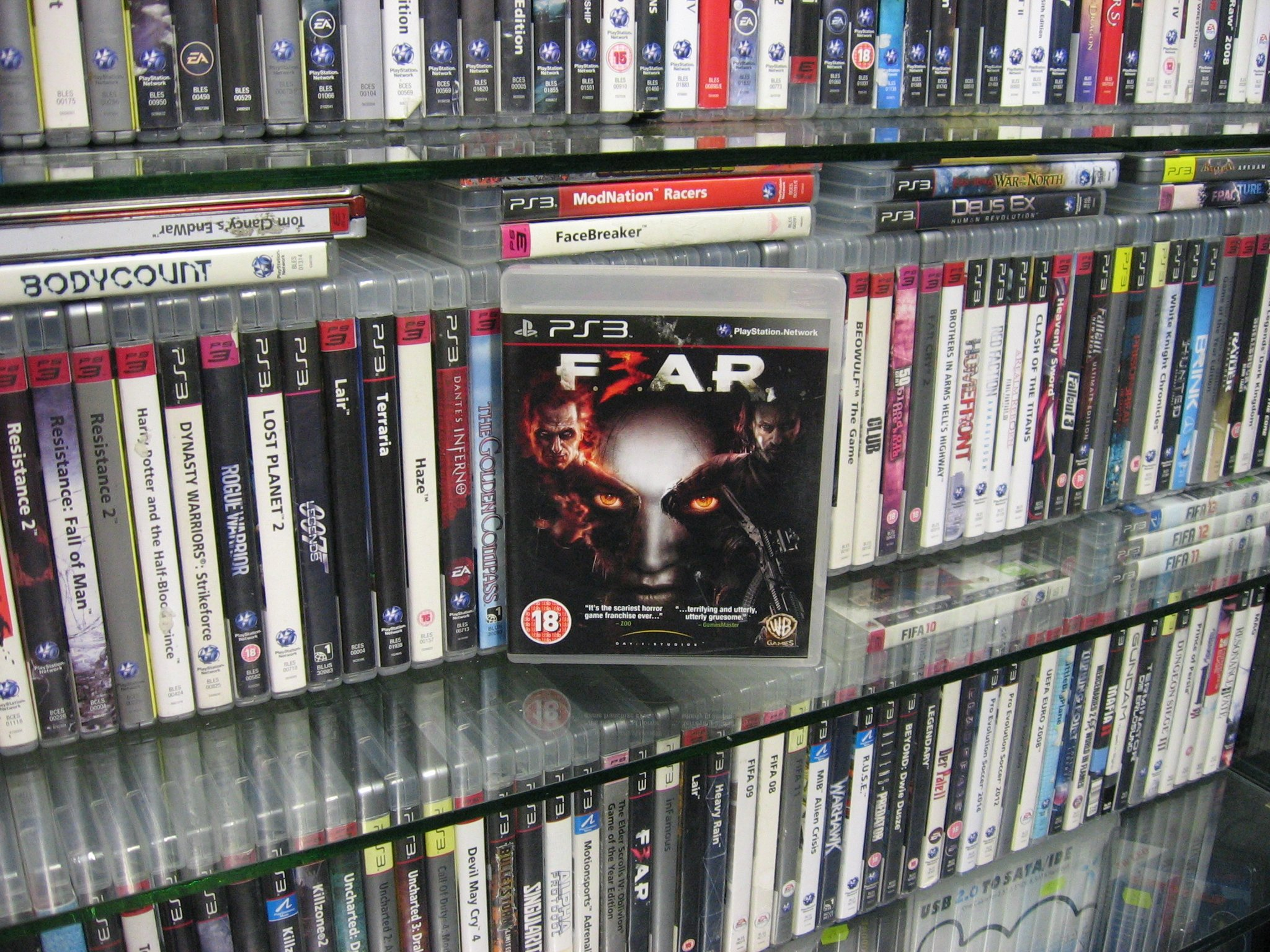 FEAR 3 F.E.A.R. F3EAR - GRA PS3 Opole 0046