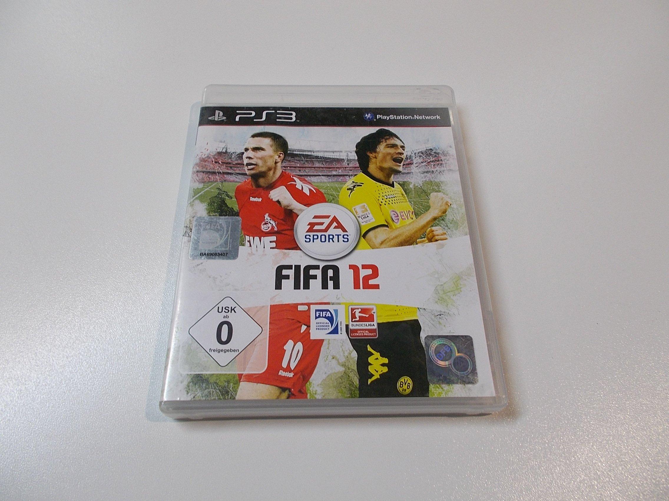 FIFA 12 - GRA Ps3 - Sklep
