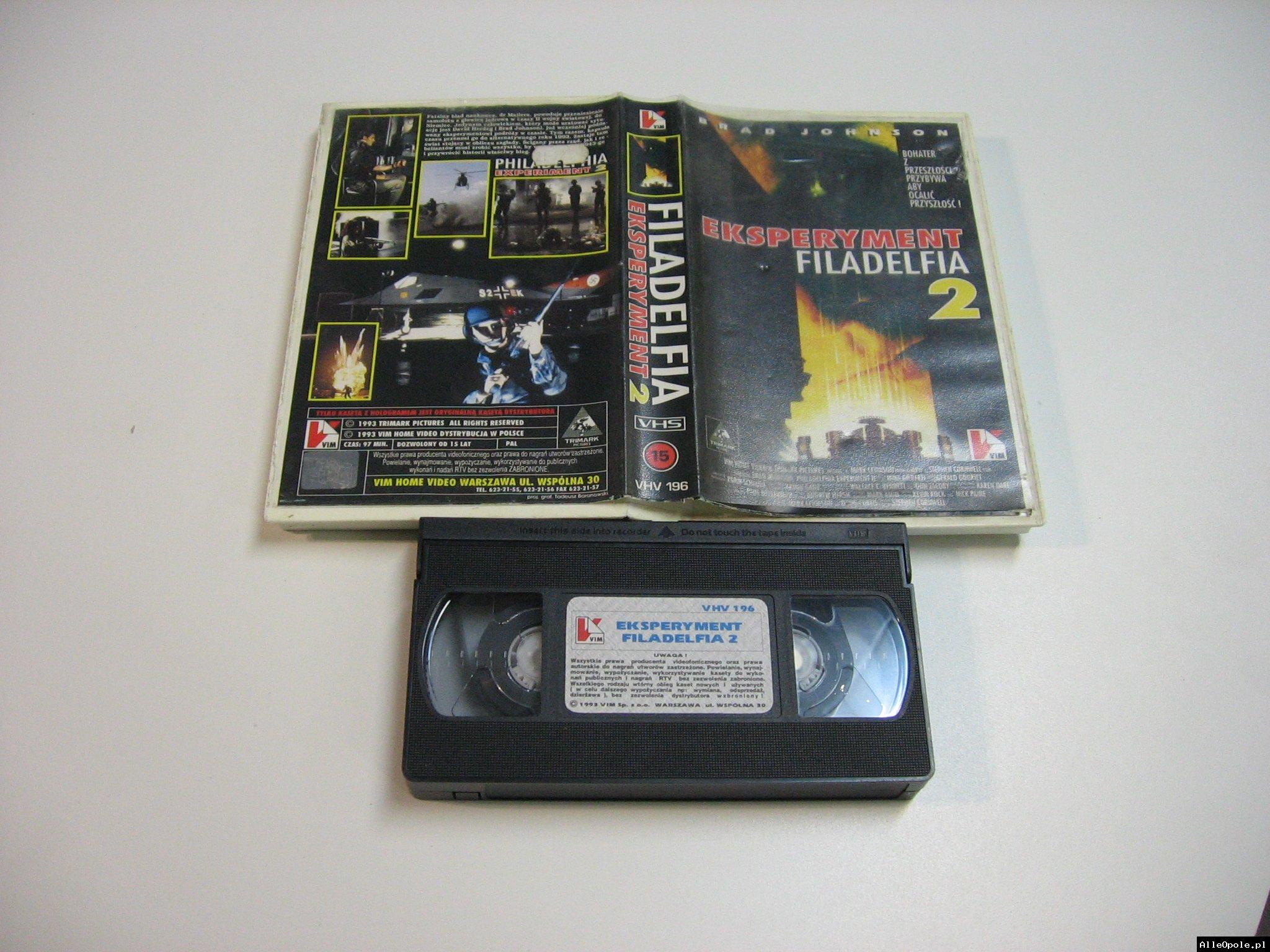 FILADELFIA 2 - VHS Kaseta Video - Opole 1816