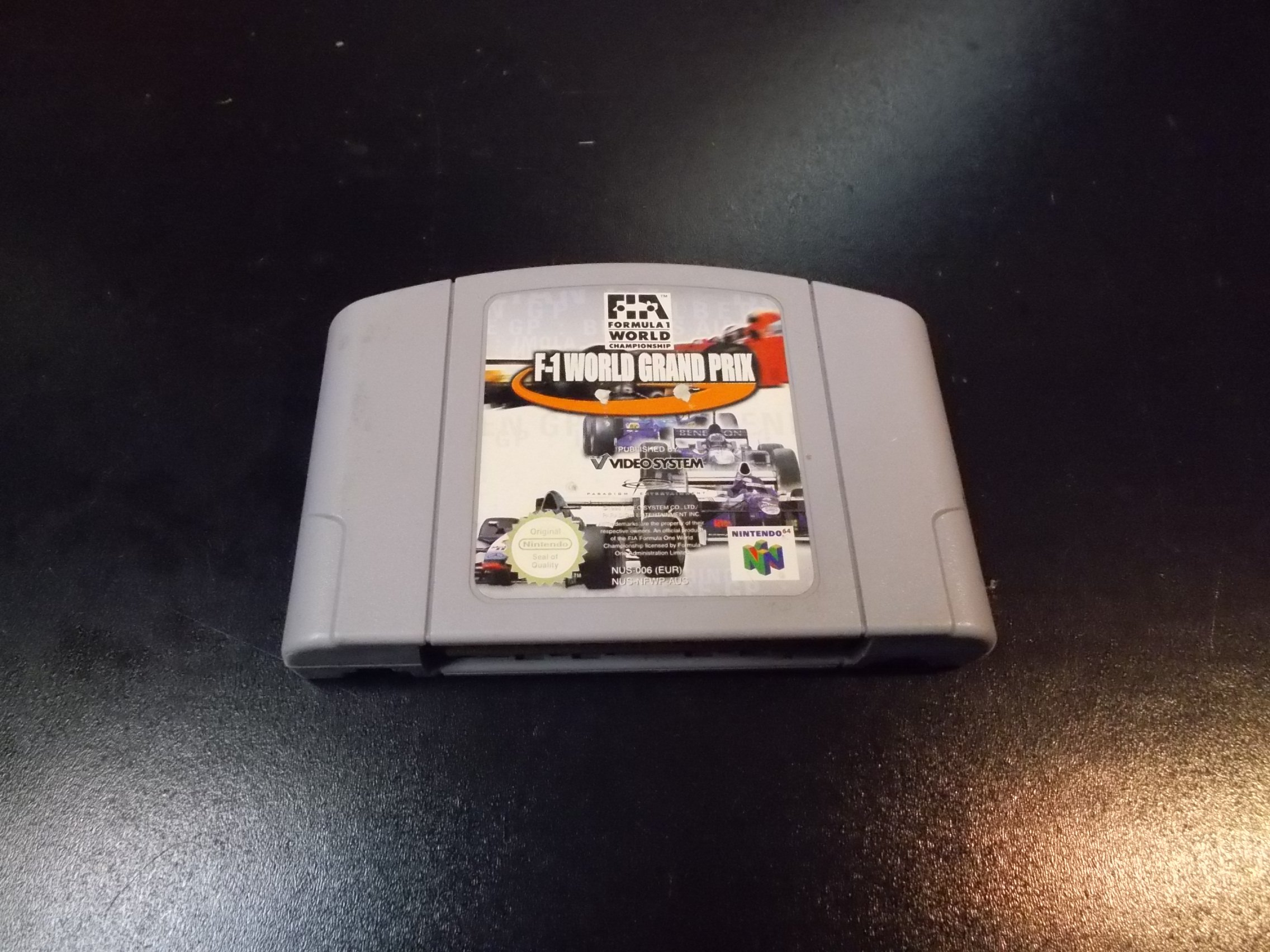 F-1 World Grand Prix - GRA Nintendo 64 0264