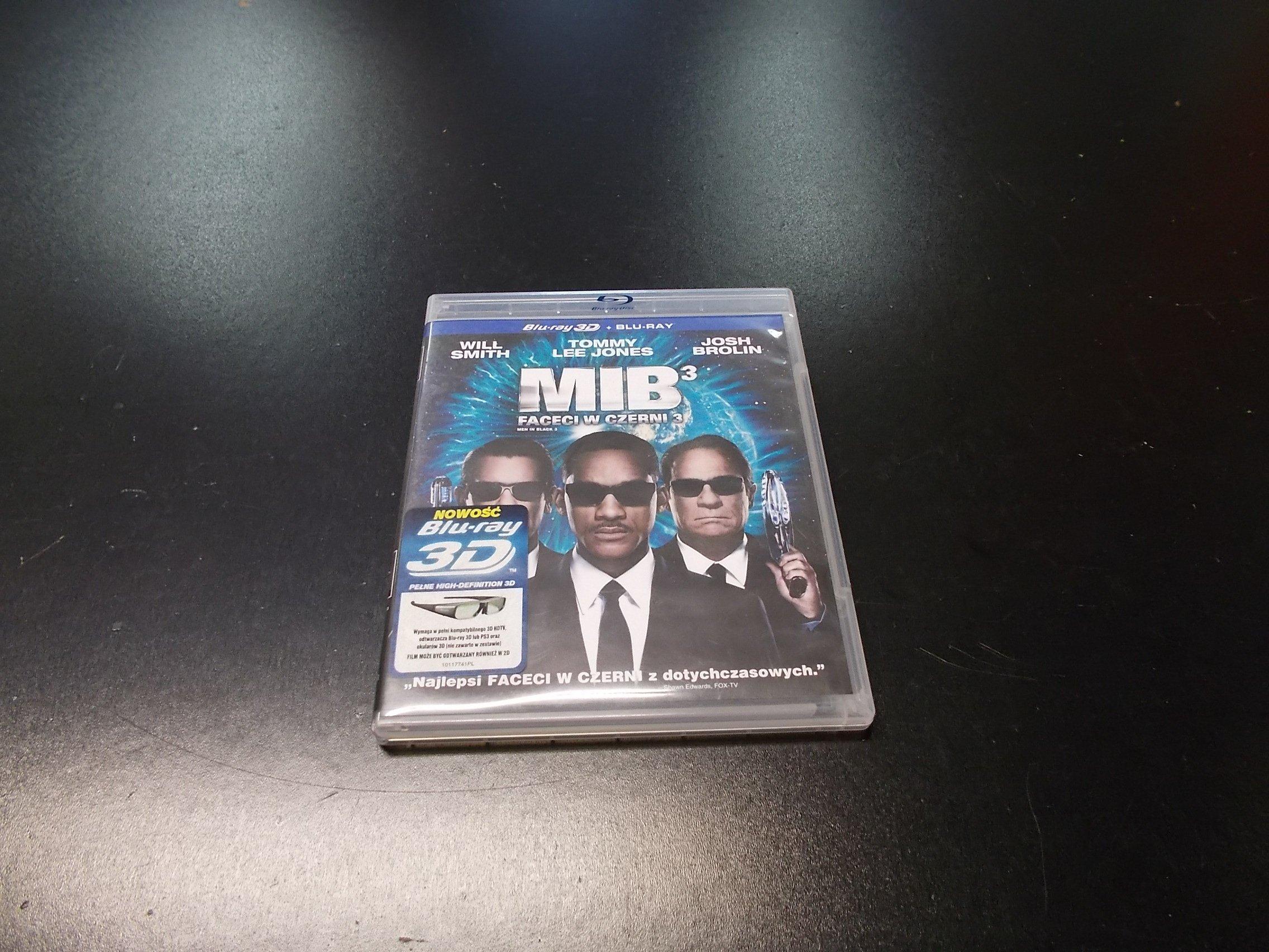 Faceci w czerni 3 PL 3D - Blu-ray - Sklep
