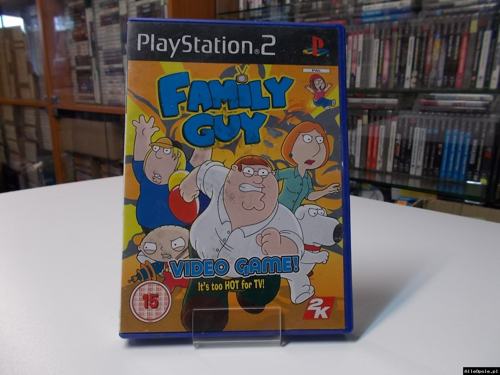 Family Guy Video Game - GRA Ps2 - Opole 0528
