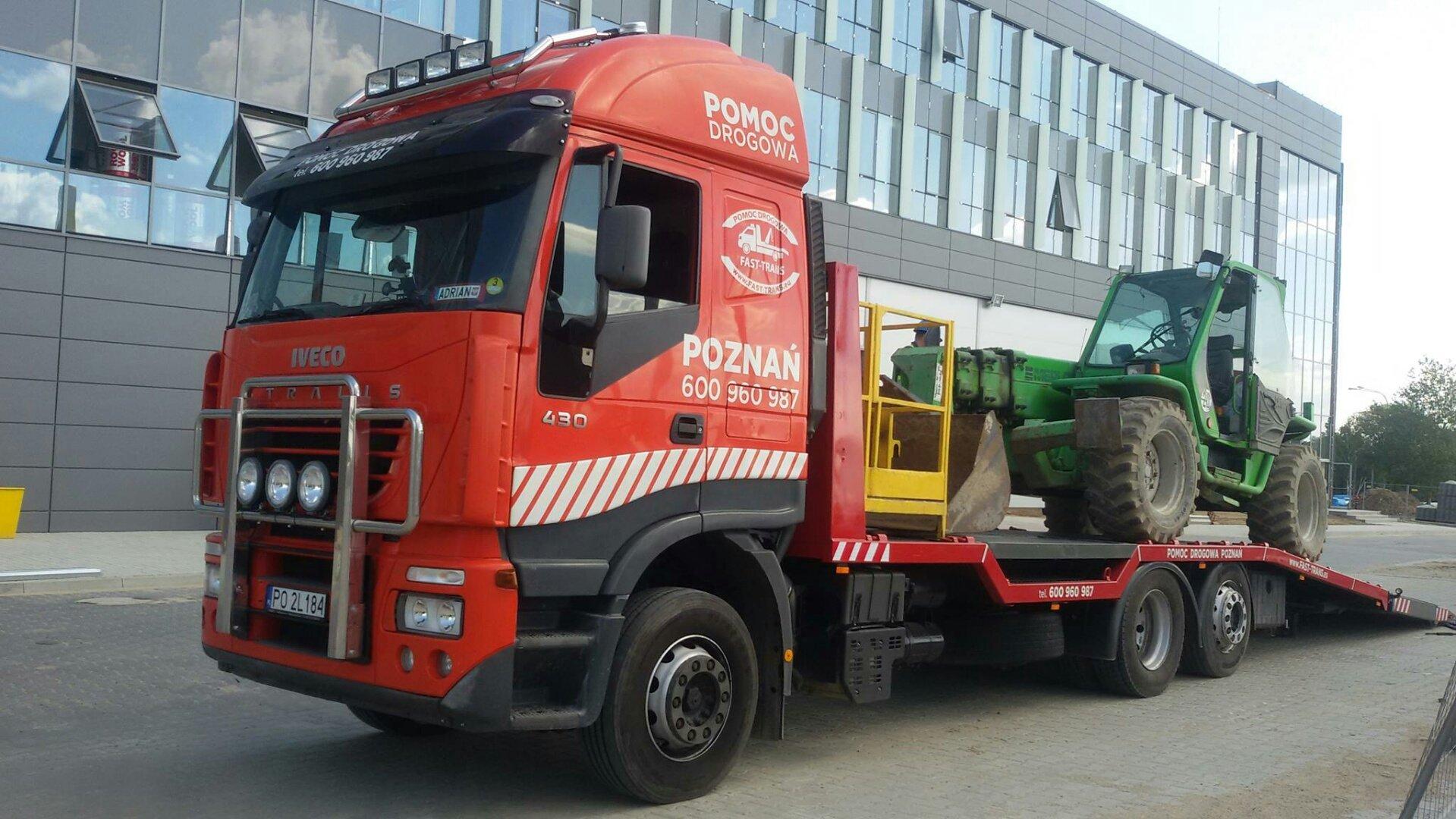 Fast-Trans- transport maszyn budowlanych, rolniczych
