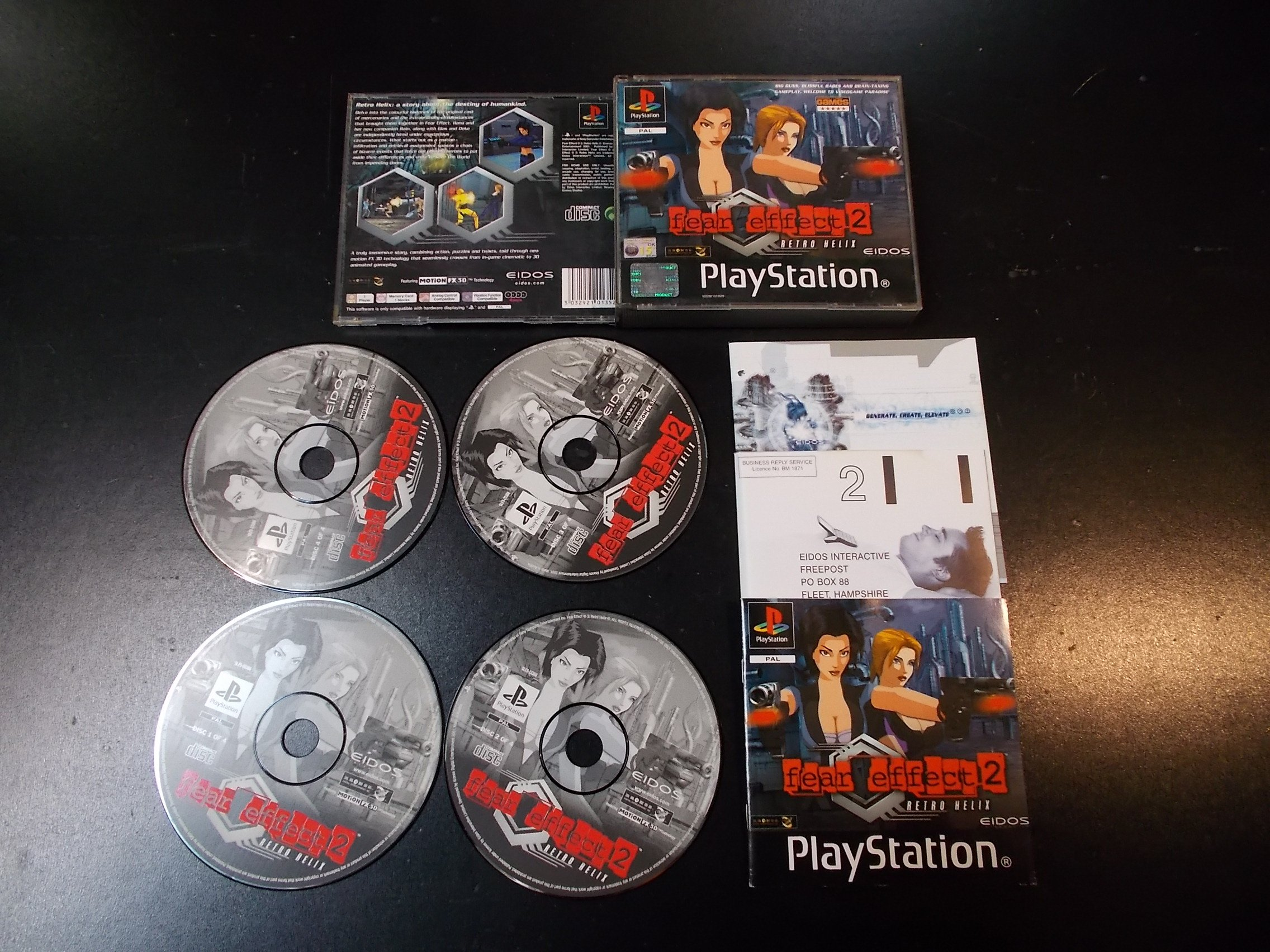 Fear effect 2 - GRA Psx Ps1 Sklep