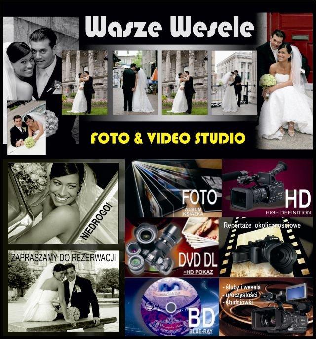 Foto plus film ślubny dla każdej Młodej Pary, przystępna cena, wolne terminy