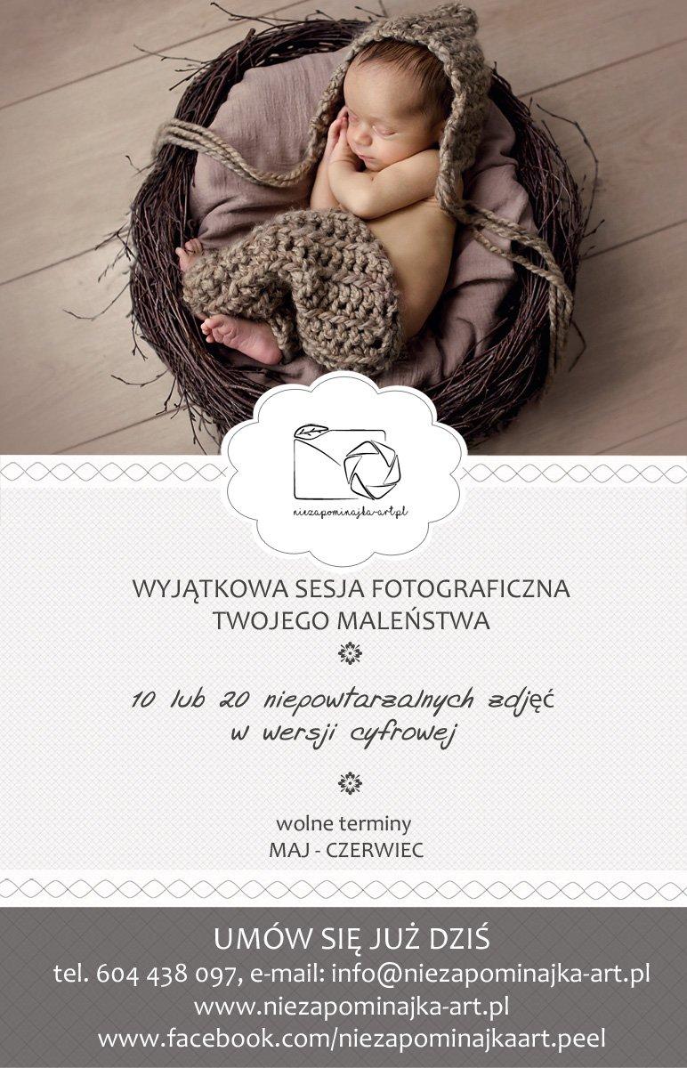 Fotograf noworodkowy i dziecięcy. Zdjęcia dzieci i noworodków. Sesja noworodkowa, dziecięca, ciążowa Opole - niezapominajka-art