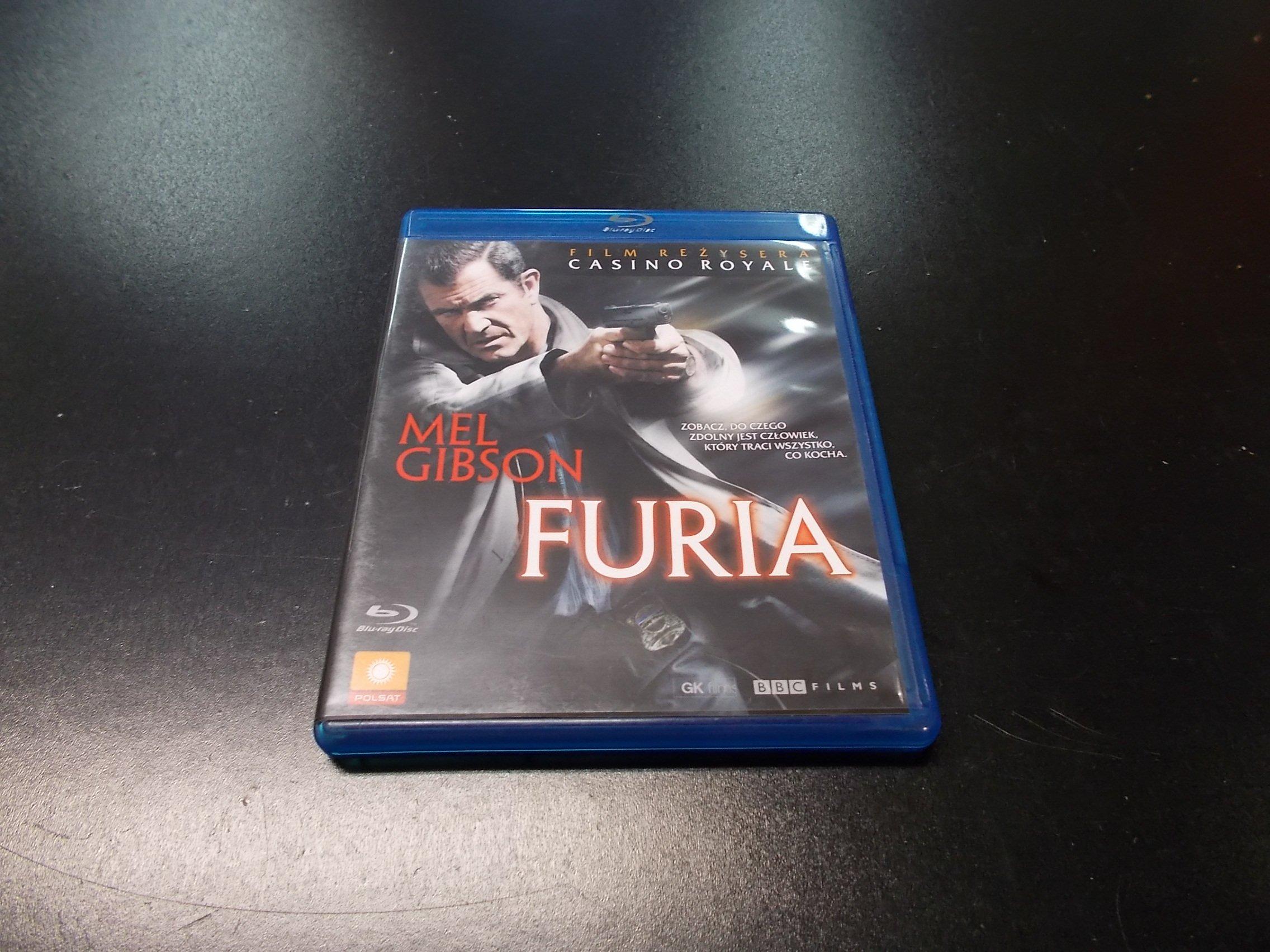 Furia  - Blu-ray - Sklep