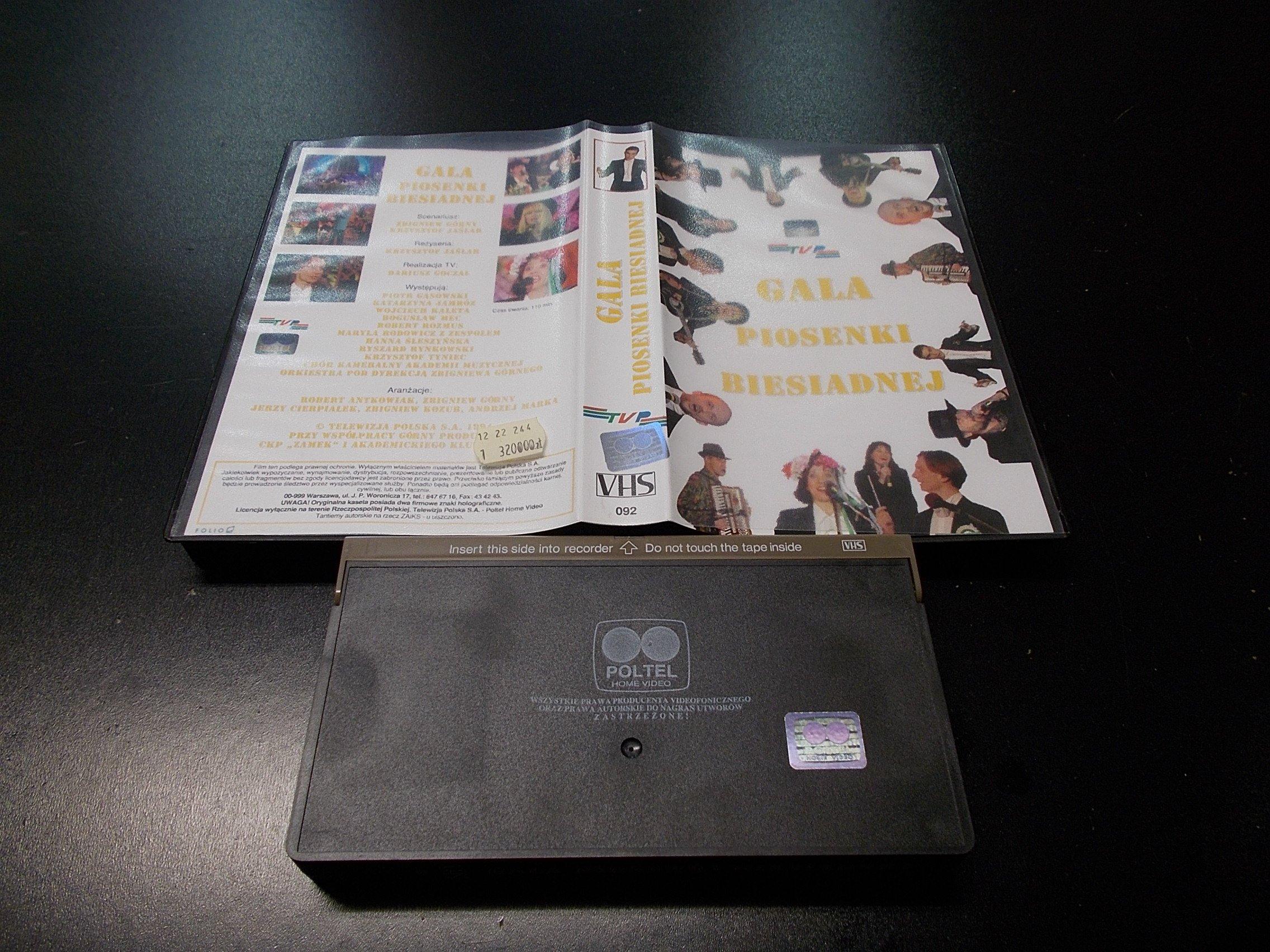 GALA PIOSENKI BIESIADNEJ -  kaseta VHS - 1166 Opole - AlleOpole.pl