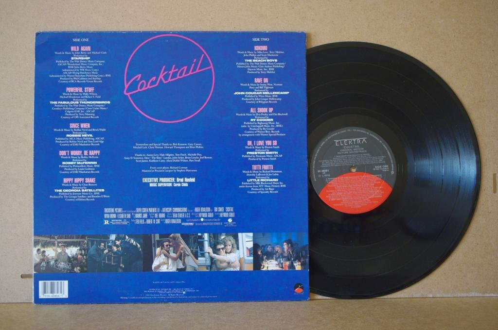 Cocktail Original Soundtrack LP 0419
