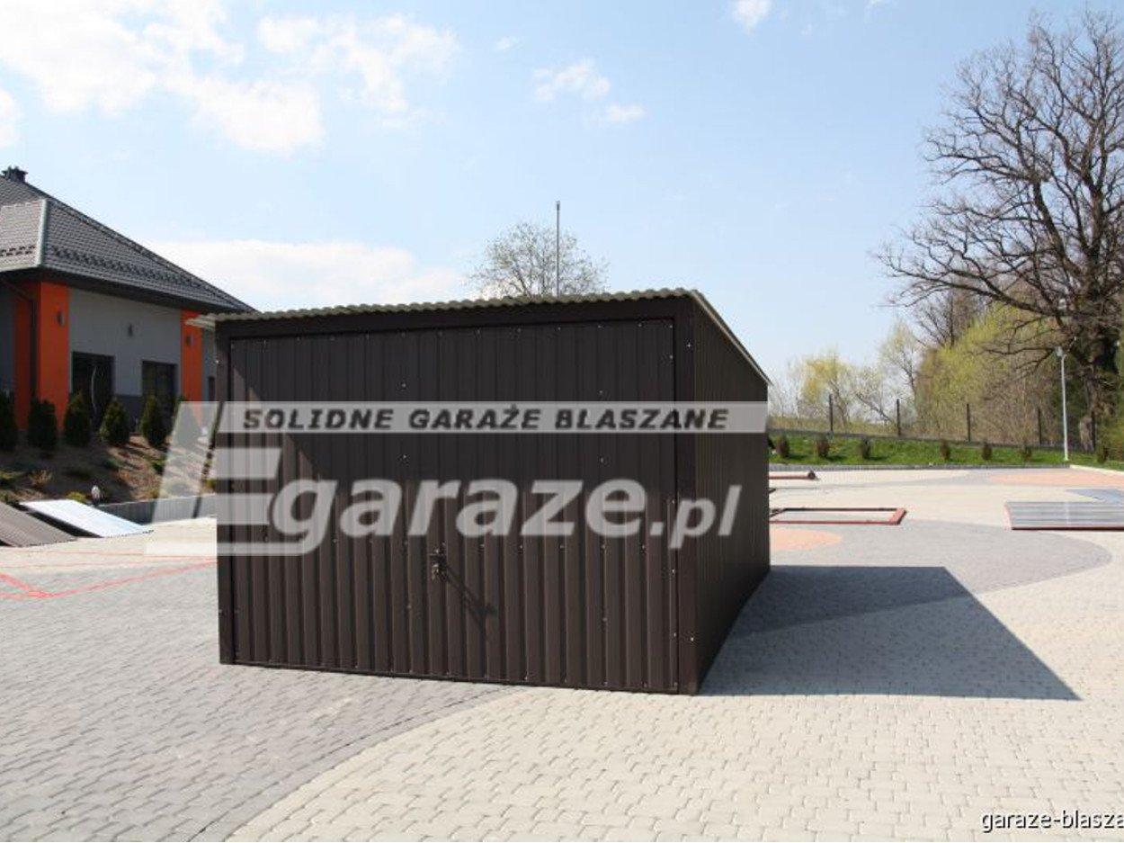GARAŻ BLASZANY  3X5 akryl BLASZAK PRODUCENT TANIO HALE WIATY