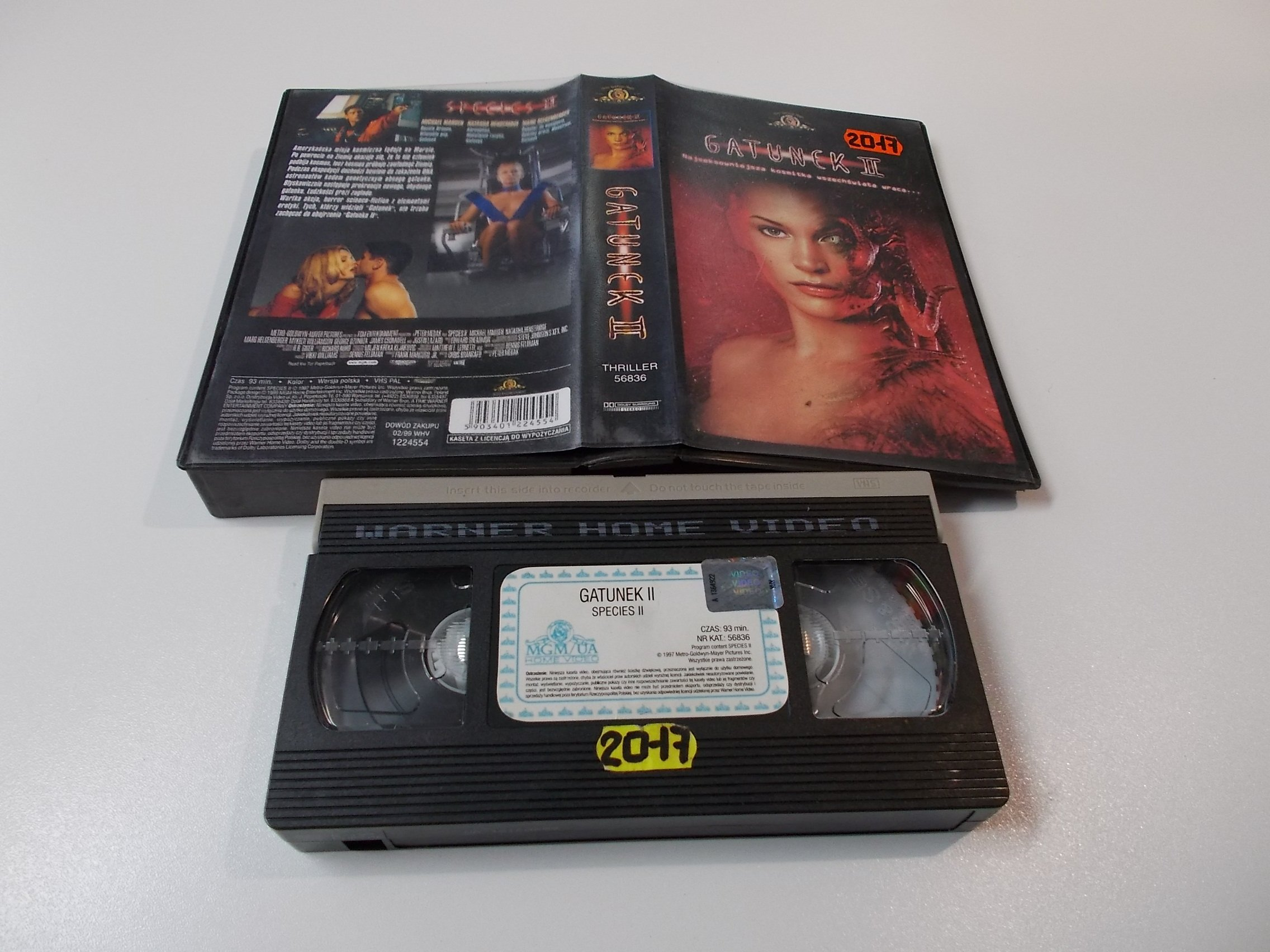 GATUNEK 2 - Kaseta Video VHS - Opole 1560
