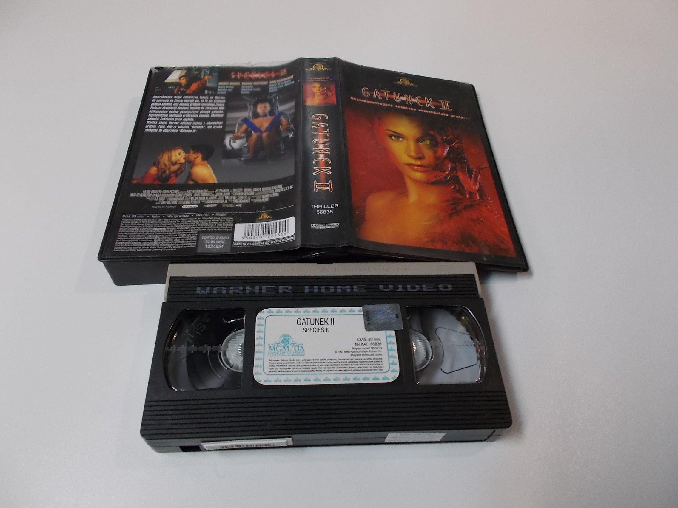 GATUNEK 2 - VHS Kaseta Video - Opole 1631