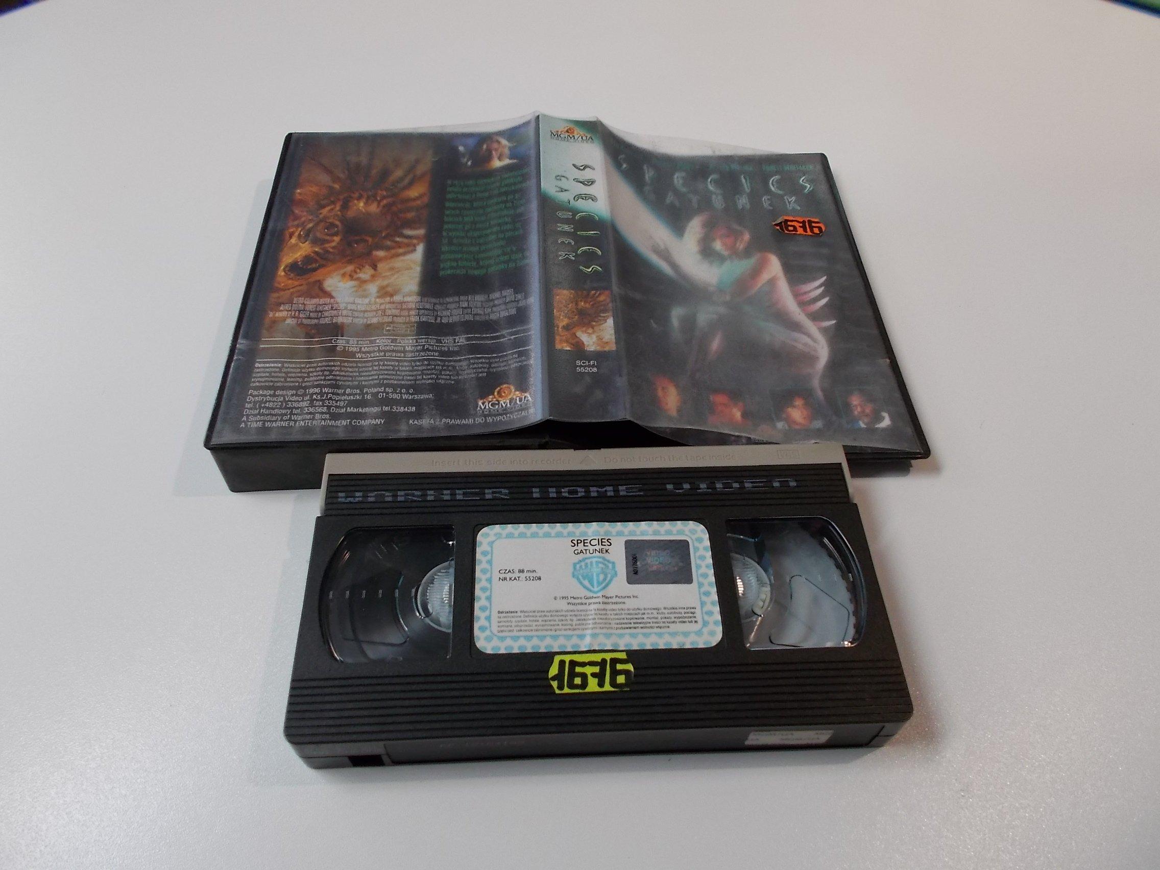 GATUNEK - Kaseta Video VHS - Opole 1559