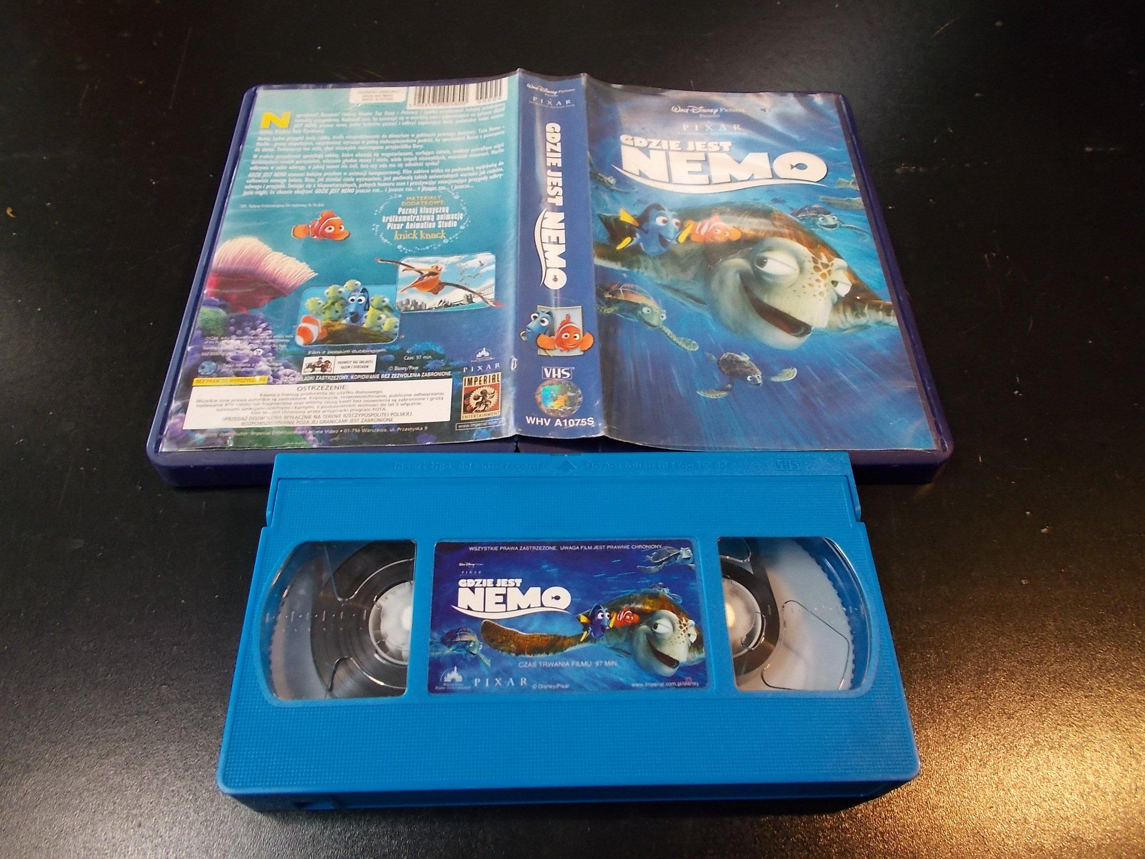 GDZIE JEST NEMO - kaseta Video VHS - 1343 Sklep