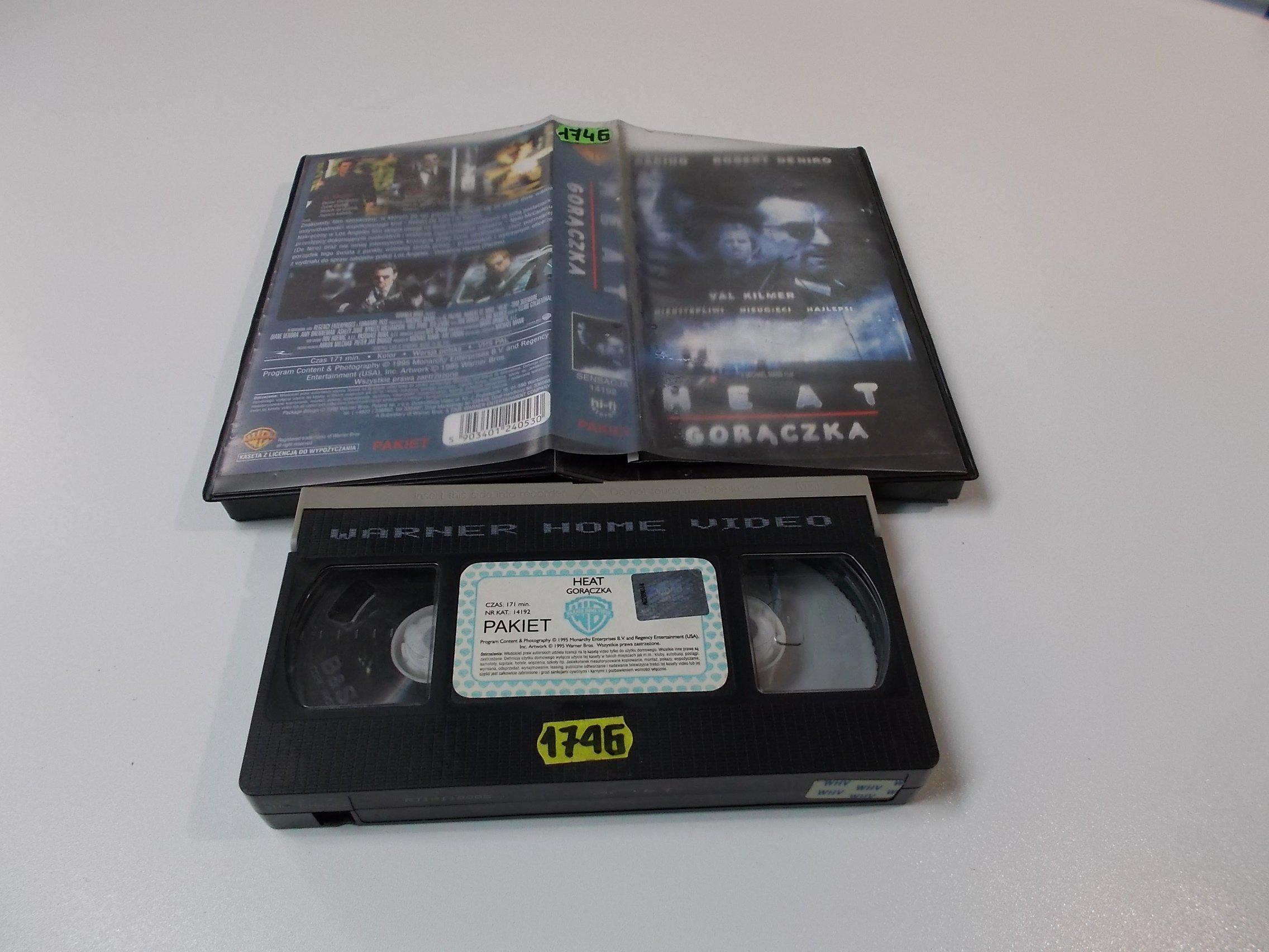 GORĄCZKA - VHS Kaseta Video - Opole 1612