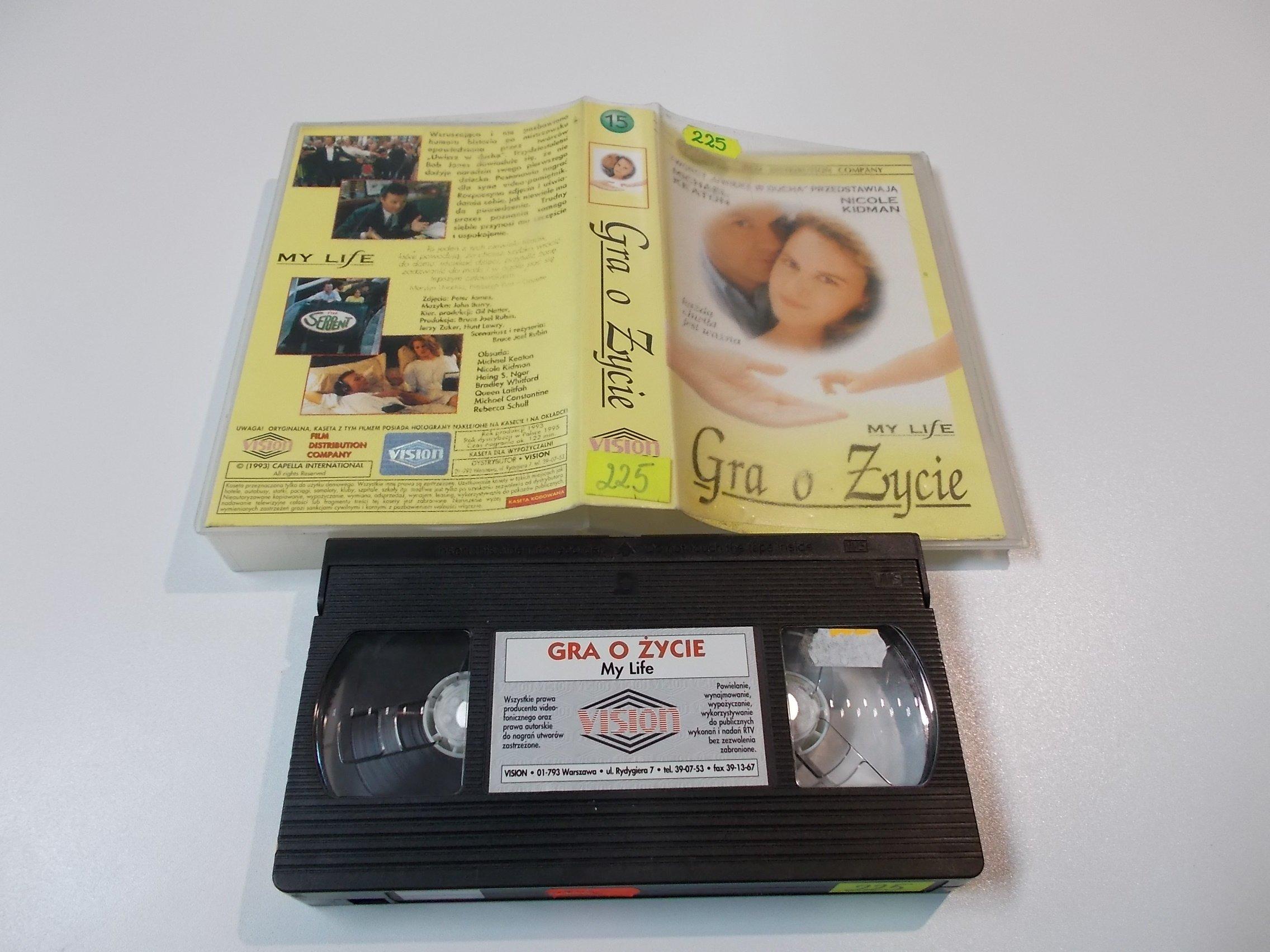 GRA O ŻYCIE - kaseta Video VHS - 1459 Sklep