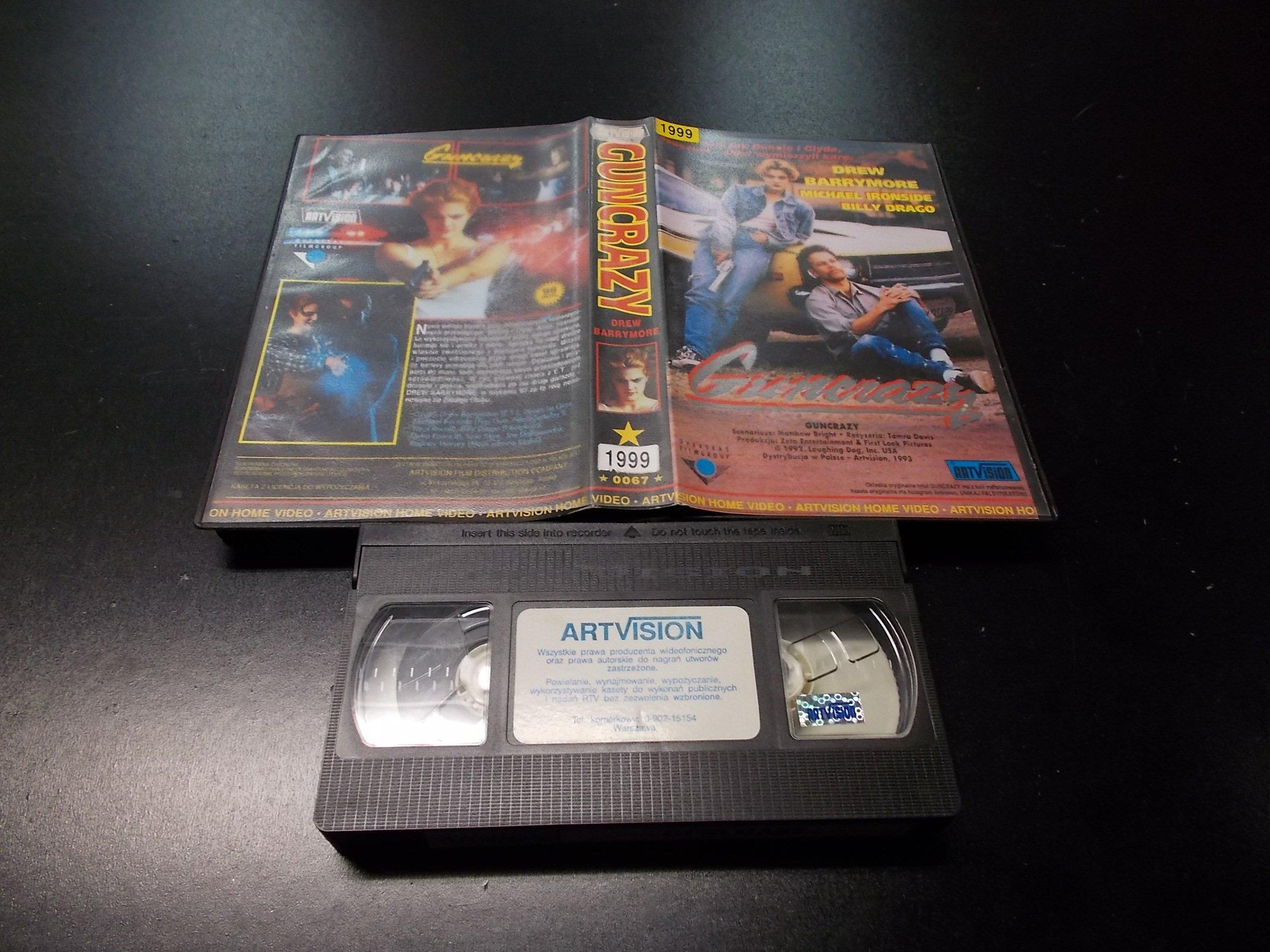 GUNCRAZY -  kaseta VHS - 1204 Opole - AlleOpole.pl