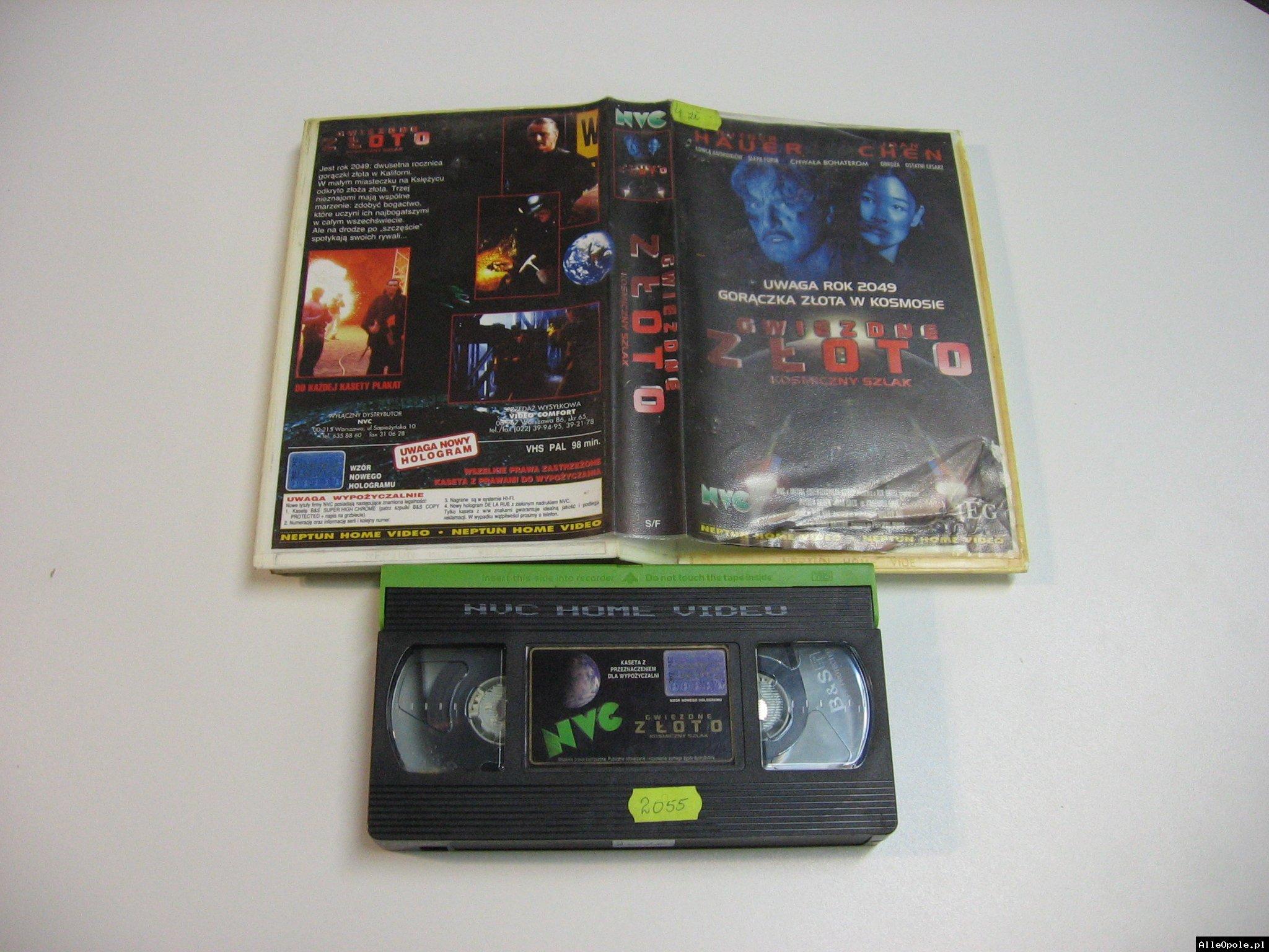 GWIEZDNE ZŁOTO - VHS Kaseta Video - Opole 1810