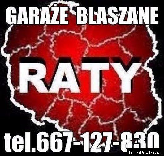 Garaze Blaszane,Blaszaki