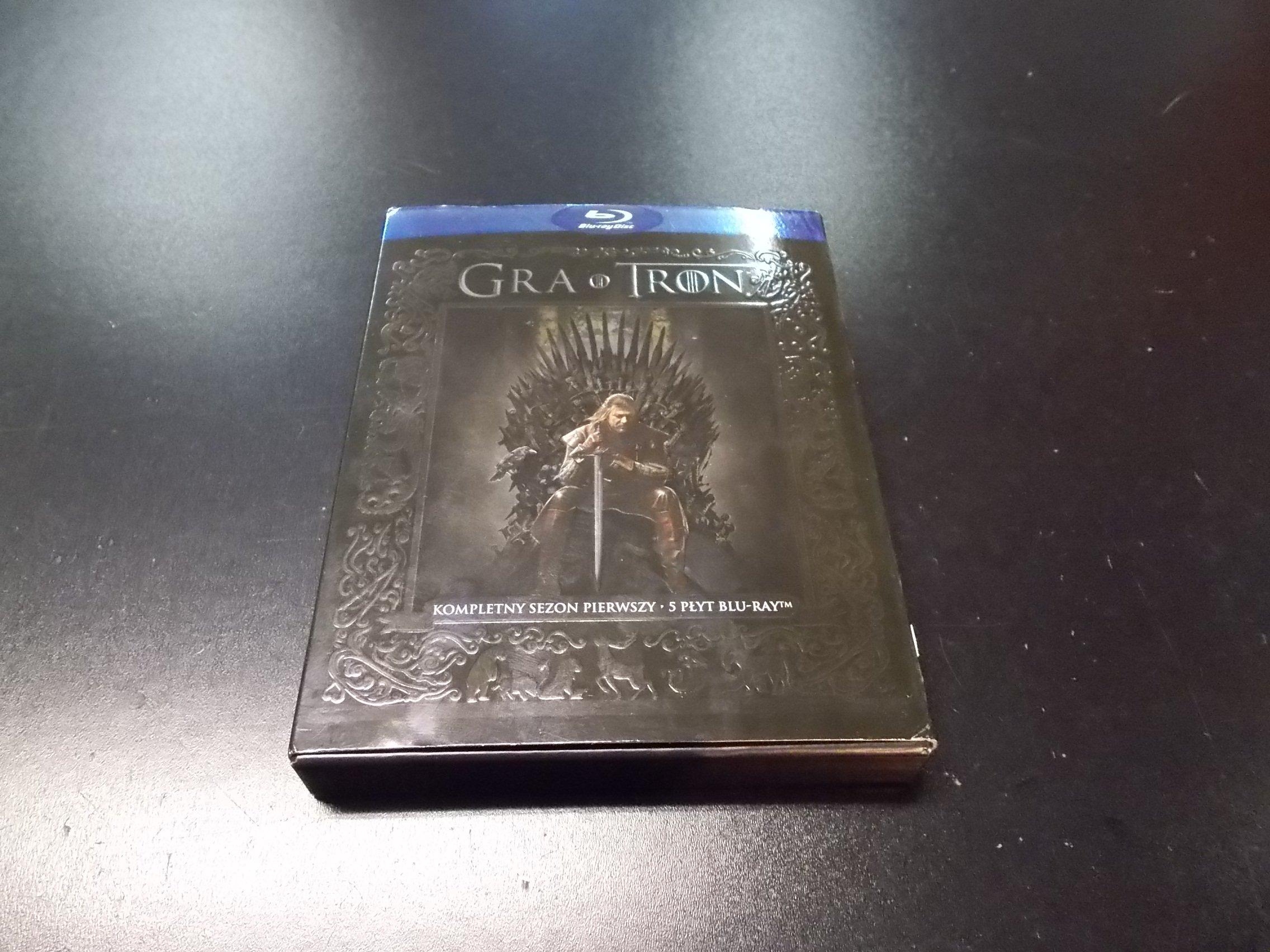 Gra O Tron - Game Of Thrones Sezon 1 PL - 5 Blu-Ray - Sklep