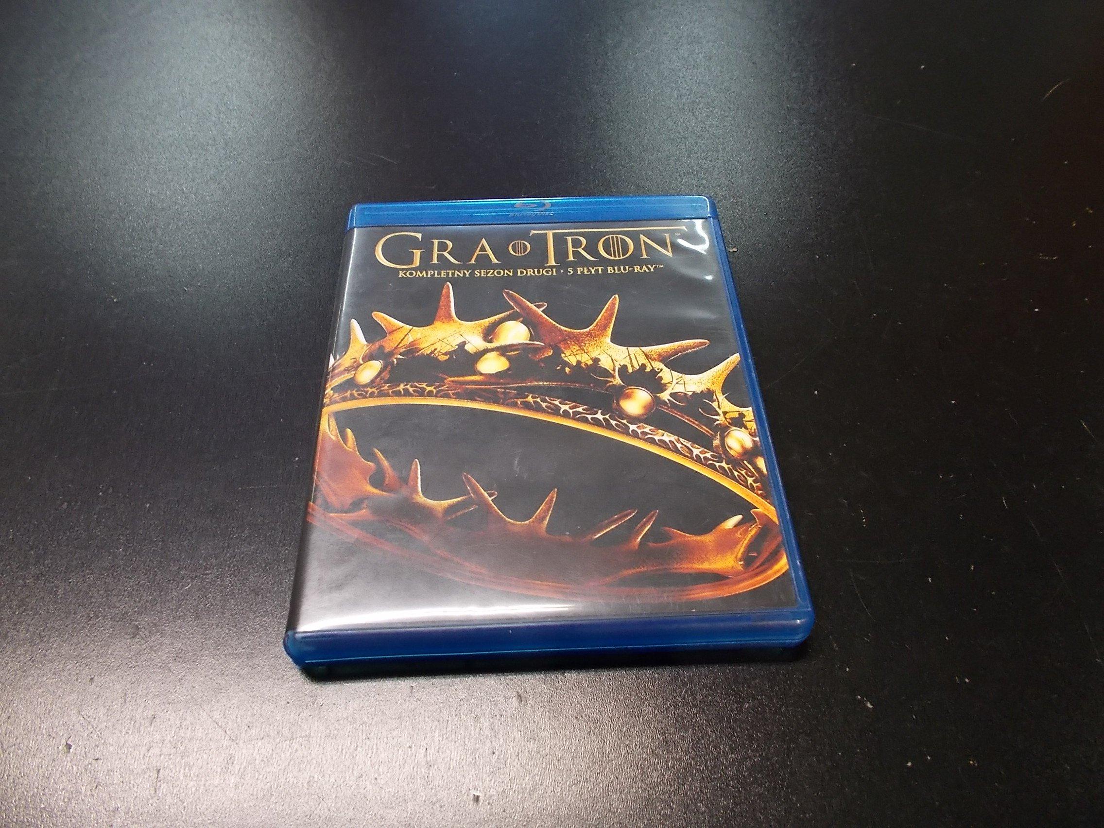 Gra O Tron - Game Of Thrones Sezon 2 PL - 5 Blu-Ray - Sklep