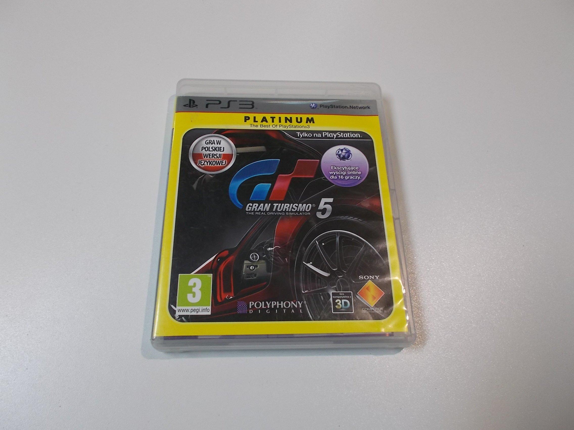 Gran Turismo 5 - GRA Ps3 - Sklep