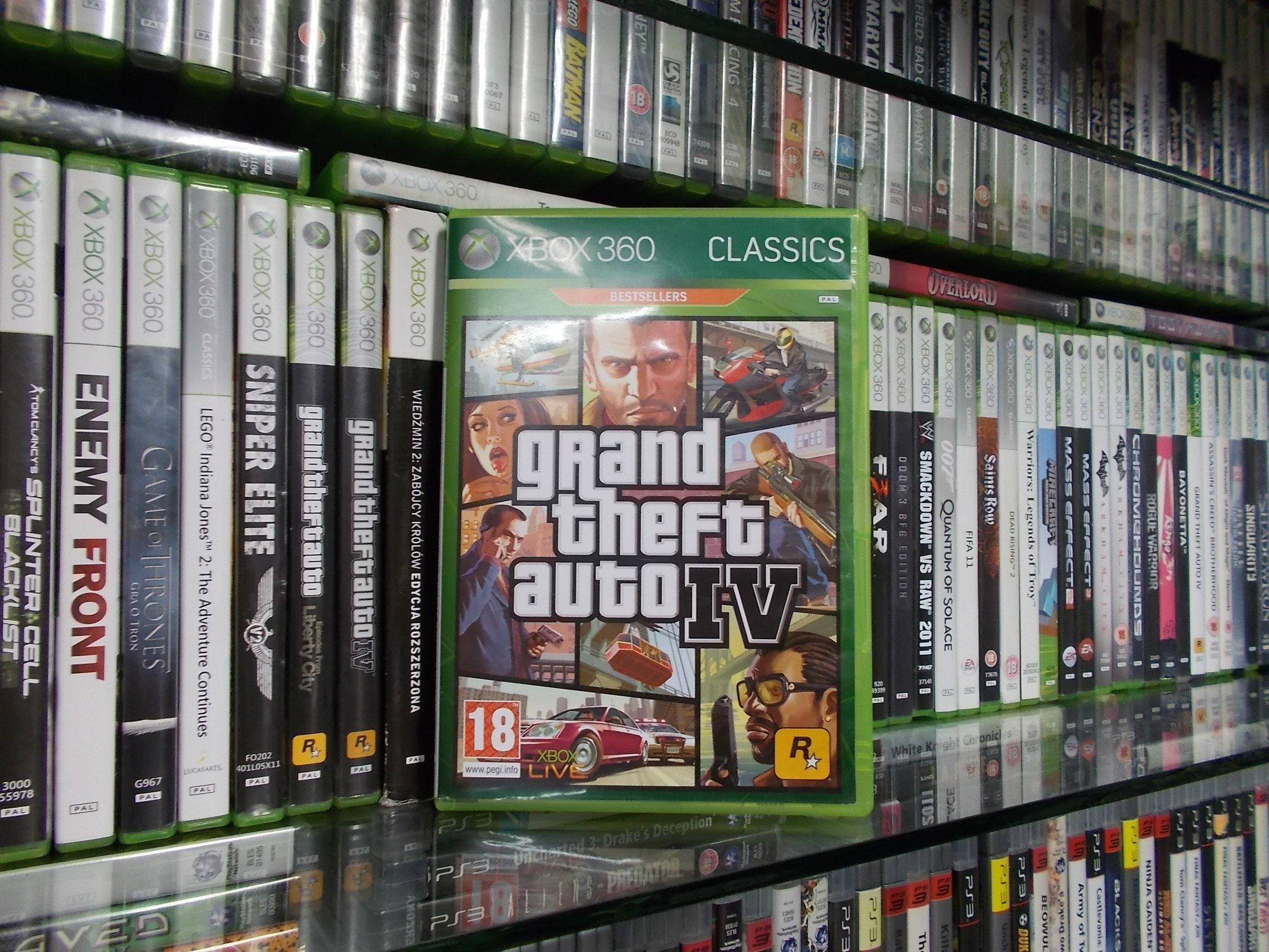 Grand Theft Auto 4 - GRA XBOX 360 Sklep