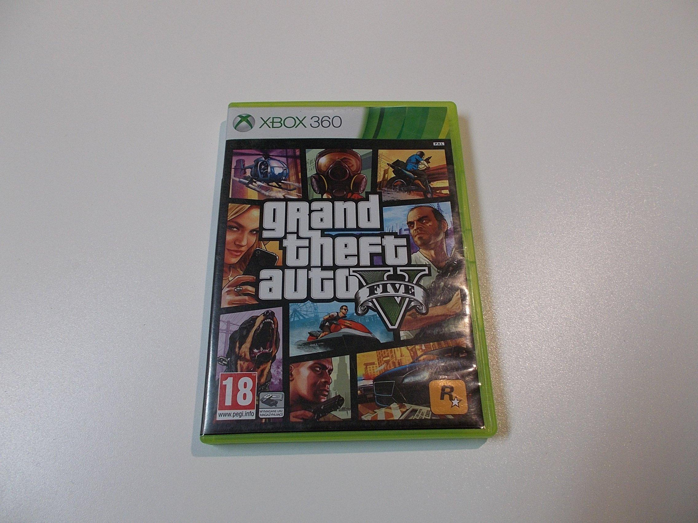 Grand Theft Auto 5 GTA V - GRA Xbox 360 - Opole 0376