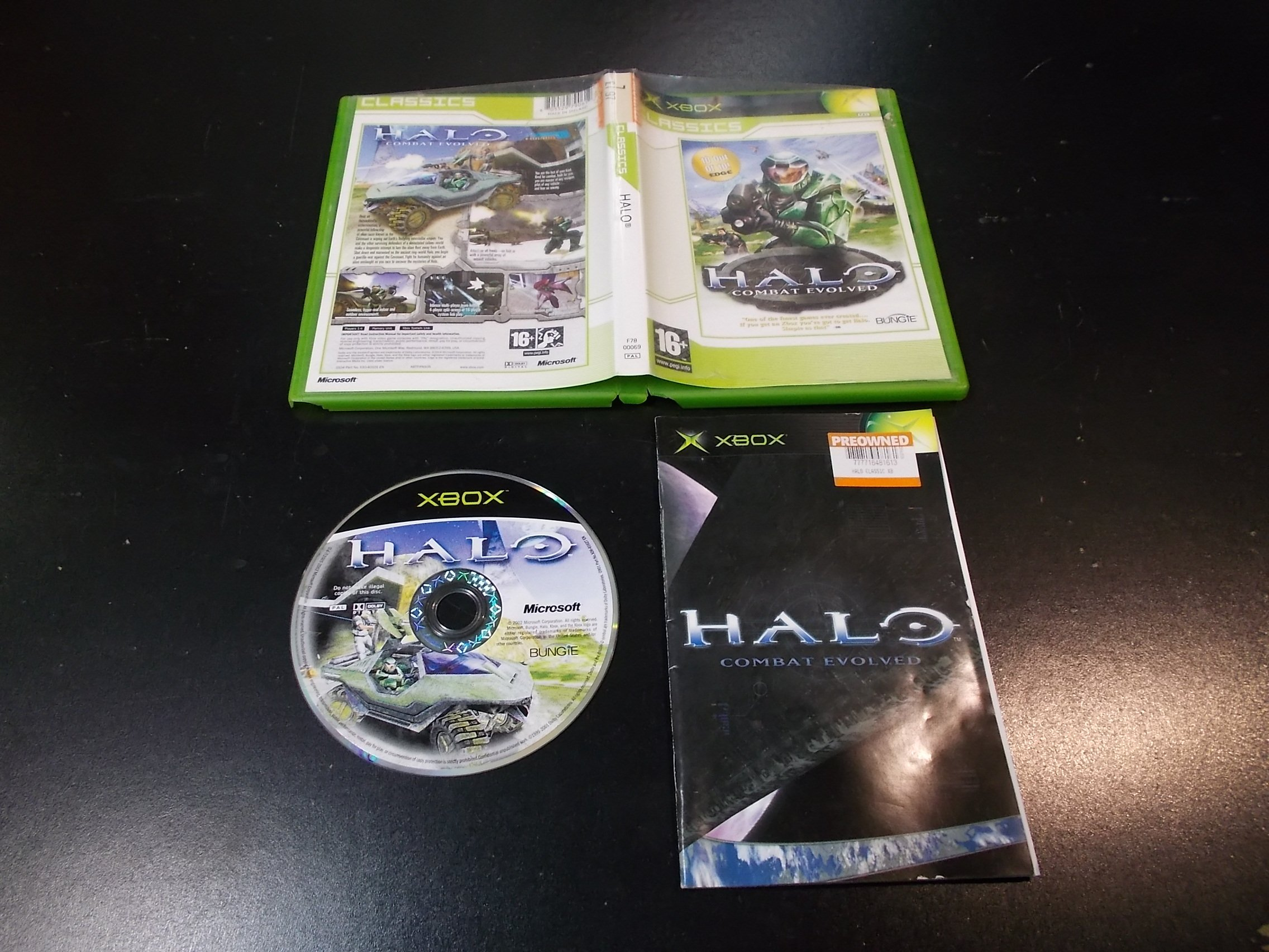 HALO COMBAT EVOLVED - GRA Xbox Classic