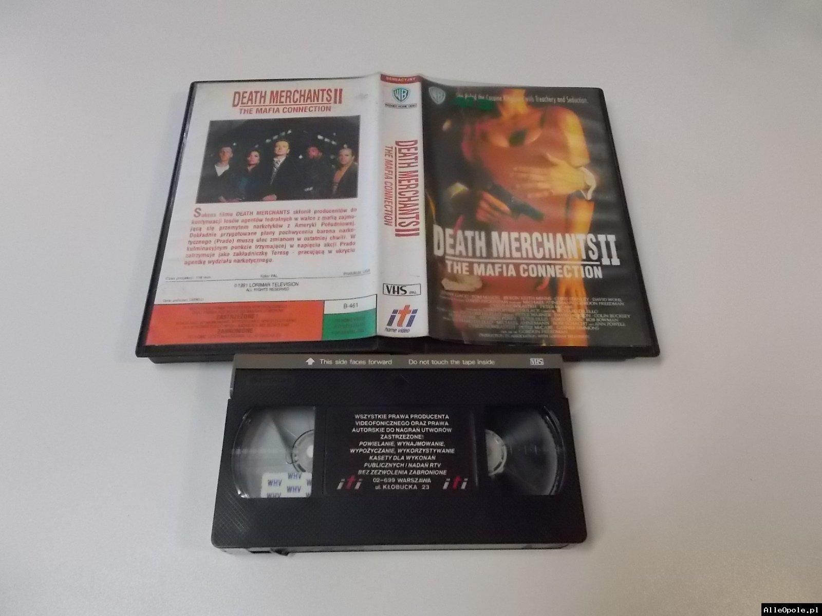 HANDLARZE ŚMIERCIĄ 2 - VHS Kaseta Video - Opole 1709
