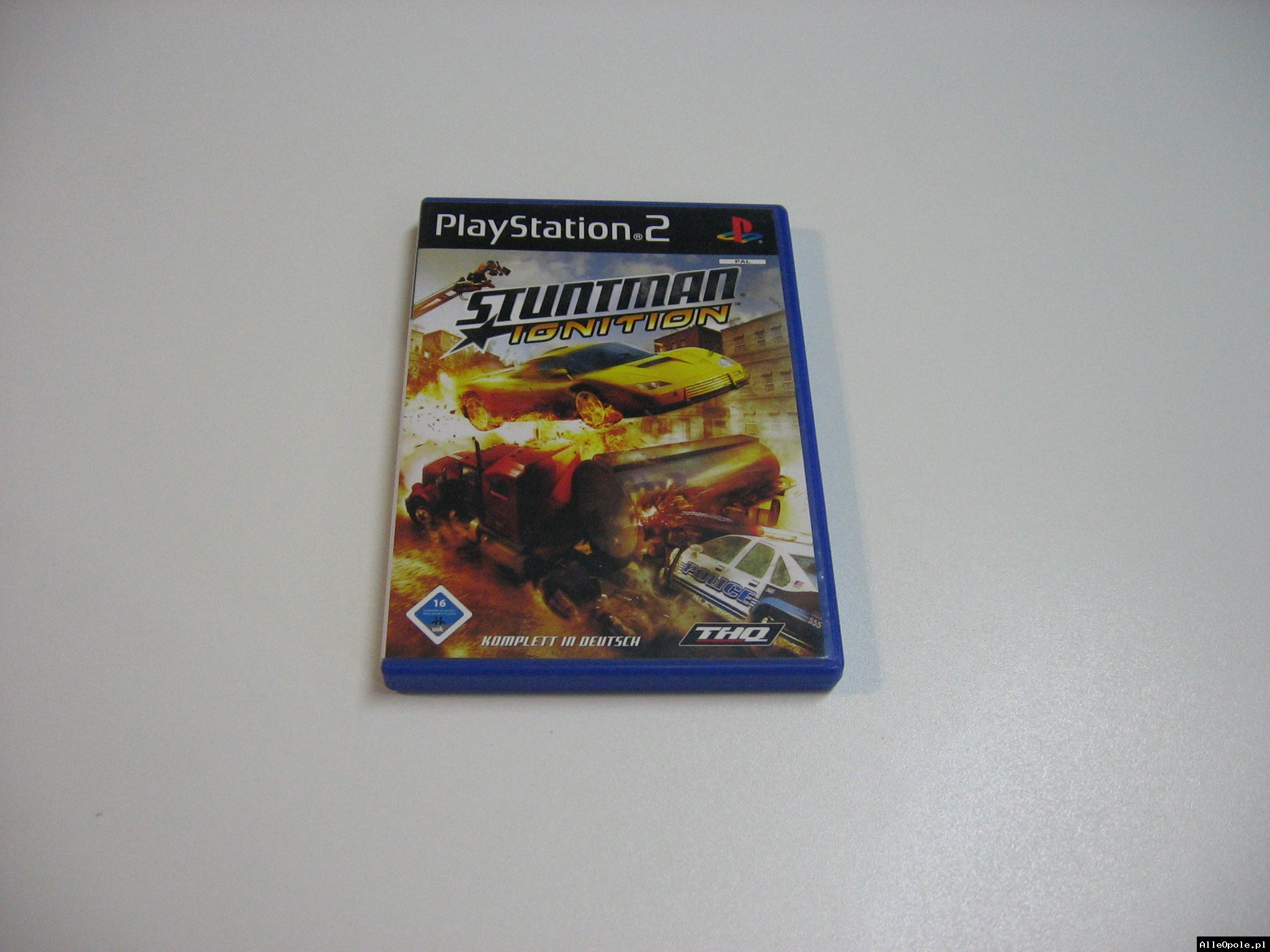 Stuntman Ignition - GRA Ps2 - Opole 0612