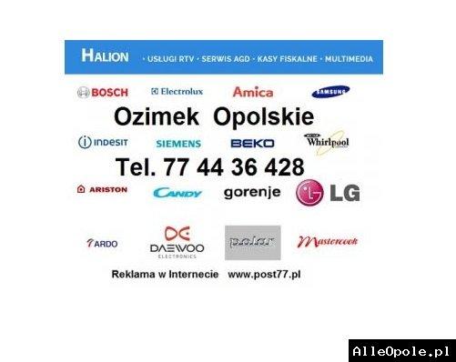 Halion Ozimek Usługi RTV Serwis AGD