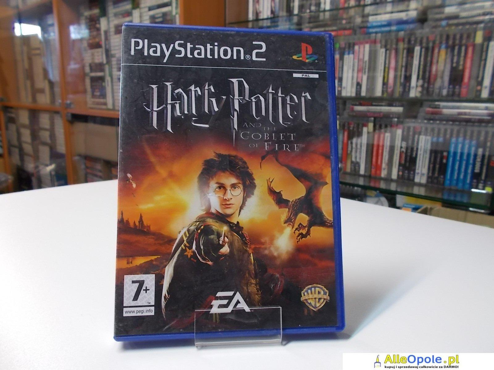Harry Potter 4 Goblet of Fire - GRA Ps2 - Opole 0527