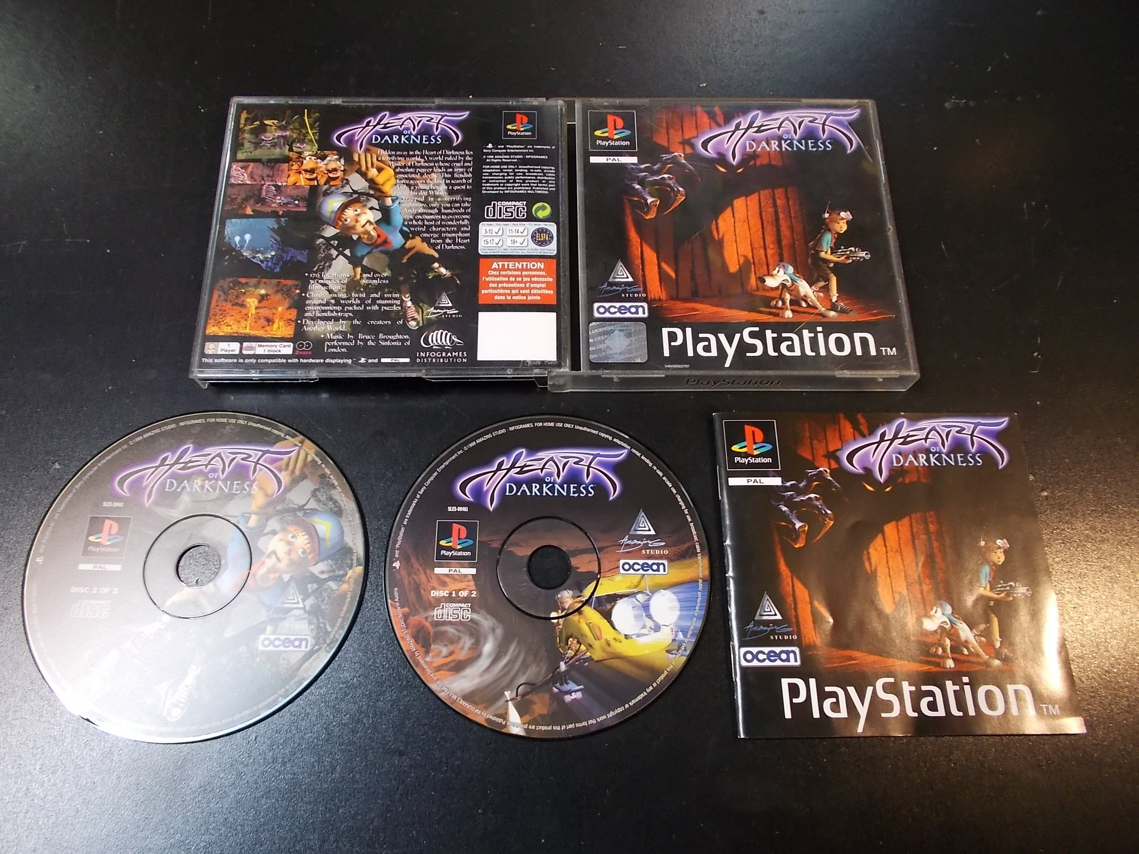 Heart of Darkness - GRA Psx Ps1 Sklep